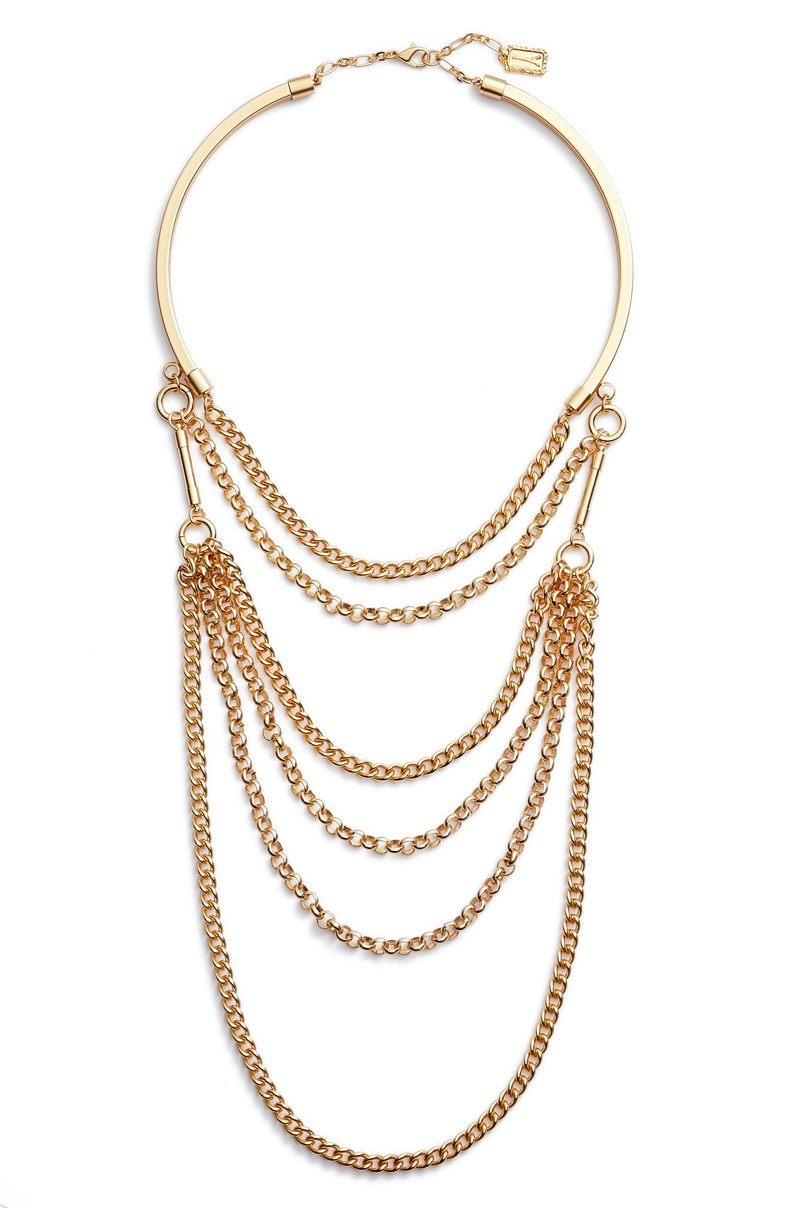Karine Sultan Elia Layered Necklace