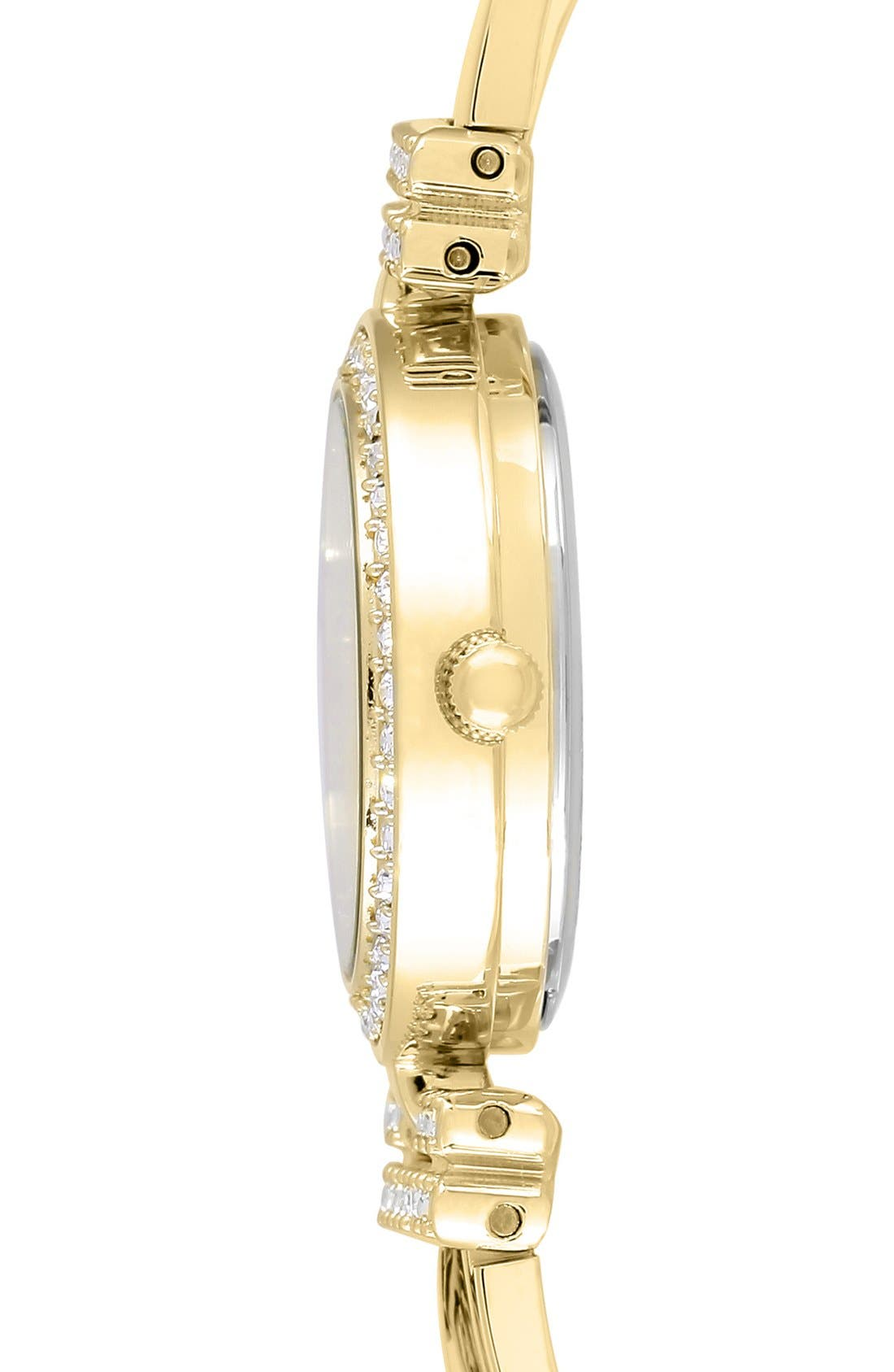 Watch & Bangles Set, 24mm,                             Alternate thumbnail 3, color,                             Gold