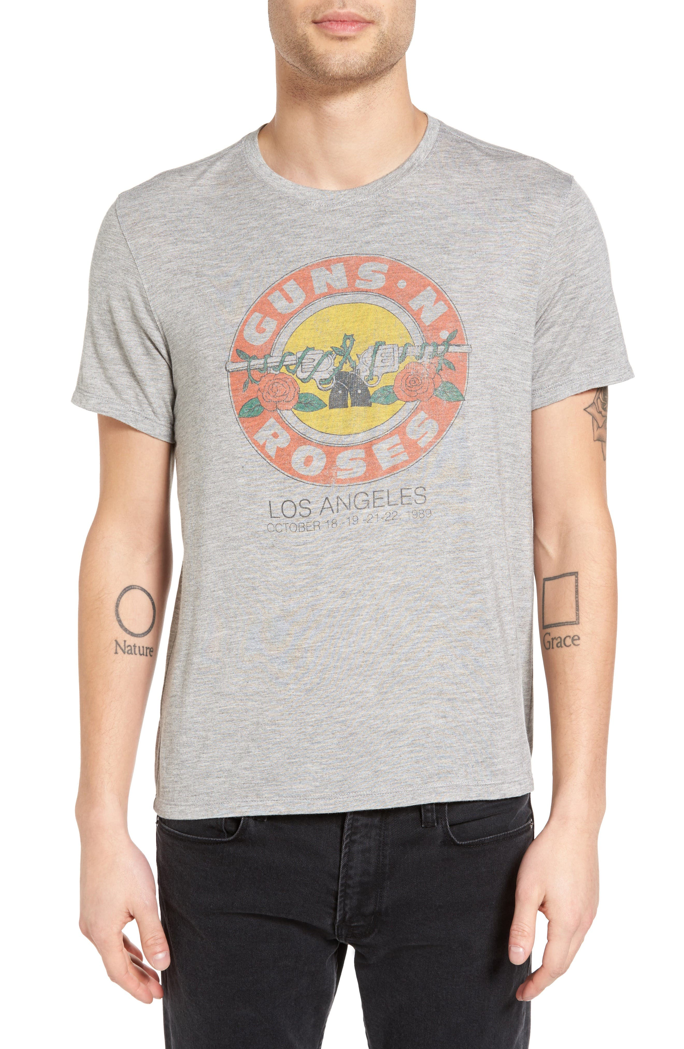 Graphic T-Shirt,                             Main thumbnail 1, color,                             Grey Heather