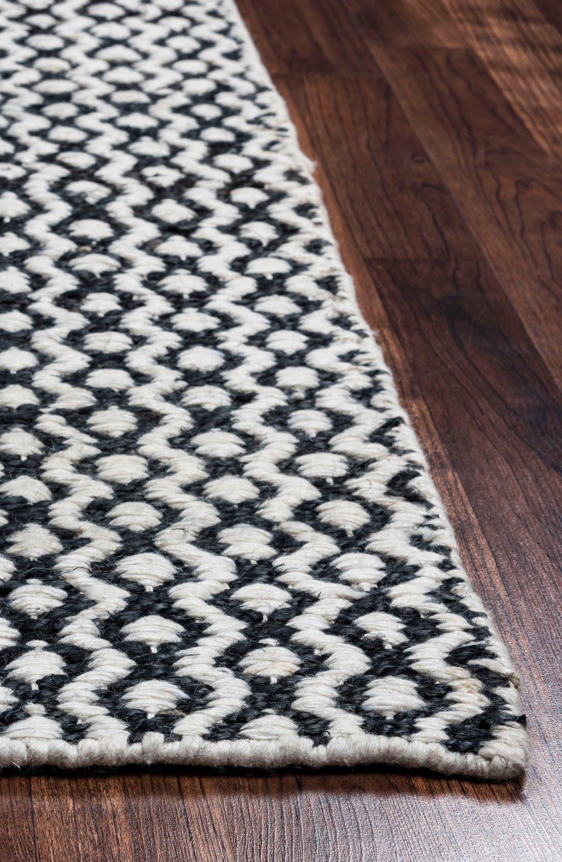 Alternate Image 2  - Rizzy Home 'Ellington' Hand Loomed Jute & Wool Area Rug