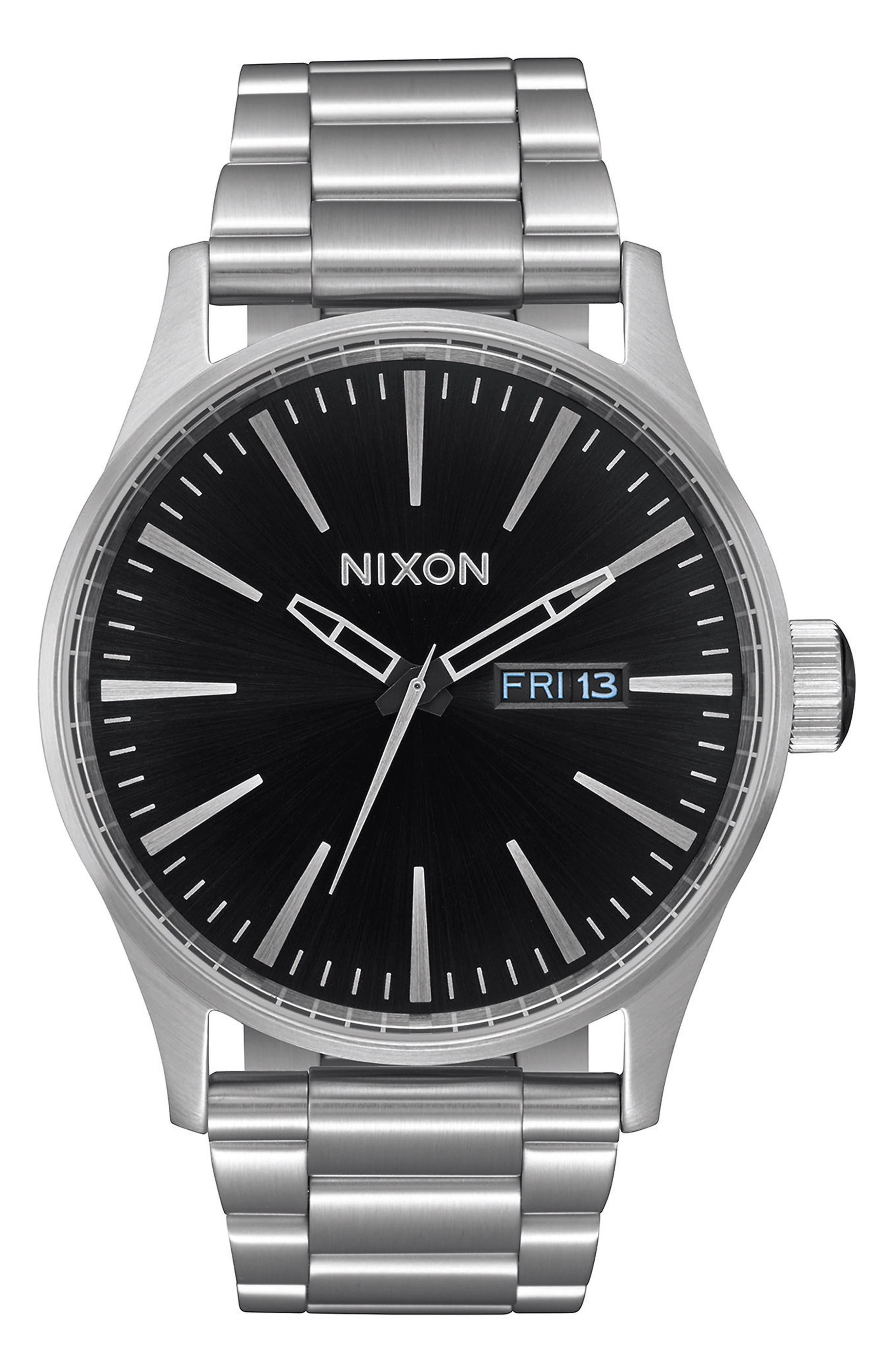 Nixon Sentry Bracelet Watch, 42mm