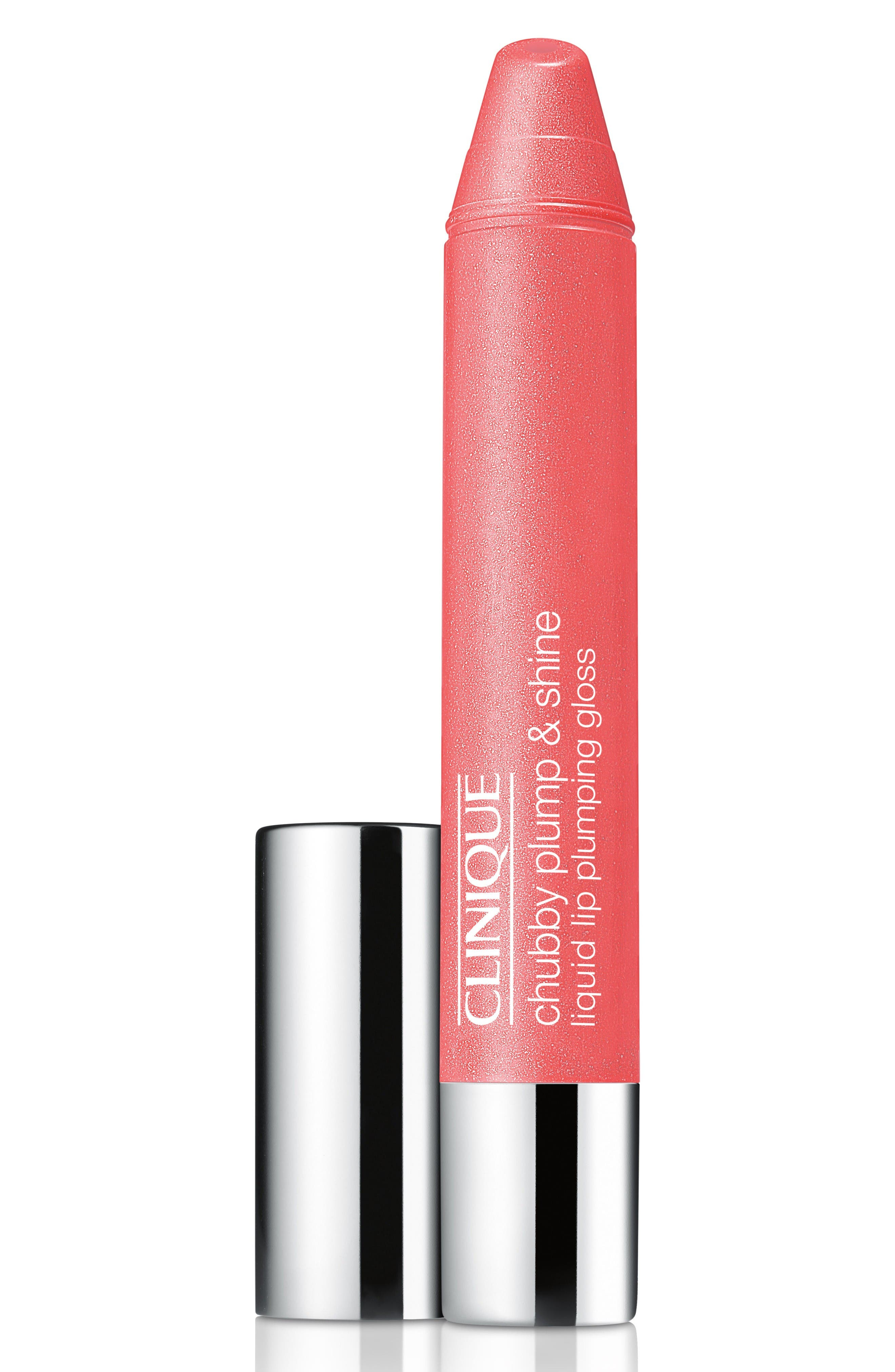 Alternate Image 1 Selected - Clinique Chubby Plump & Shine Liquid Lip Plumping Gloss