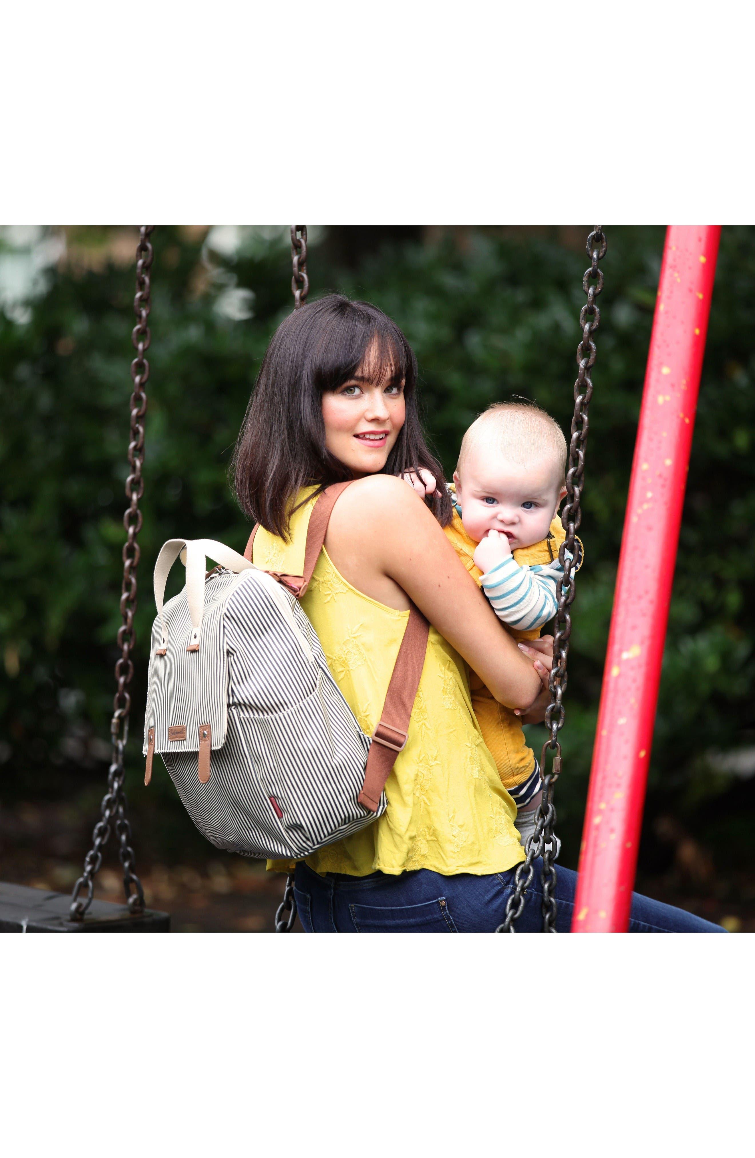 Alternate Image 9  - Babymel Robyn Convertible Diaper Backpack
