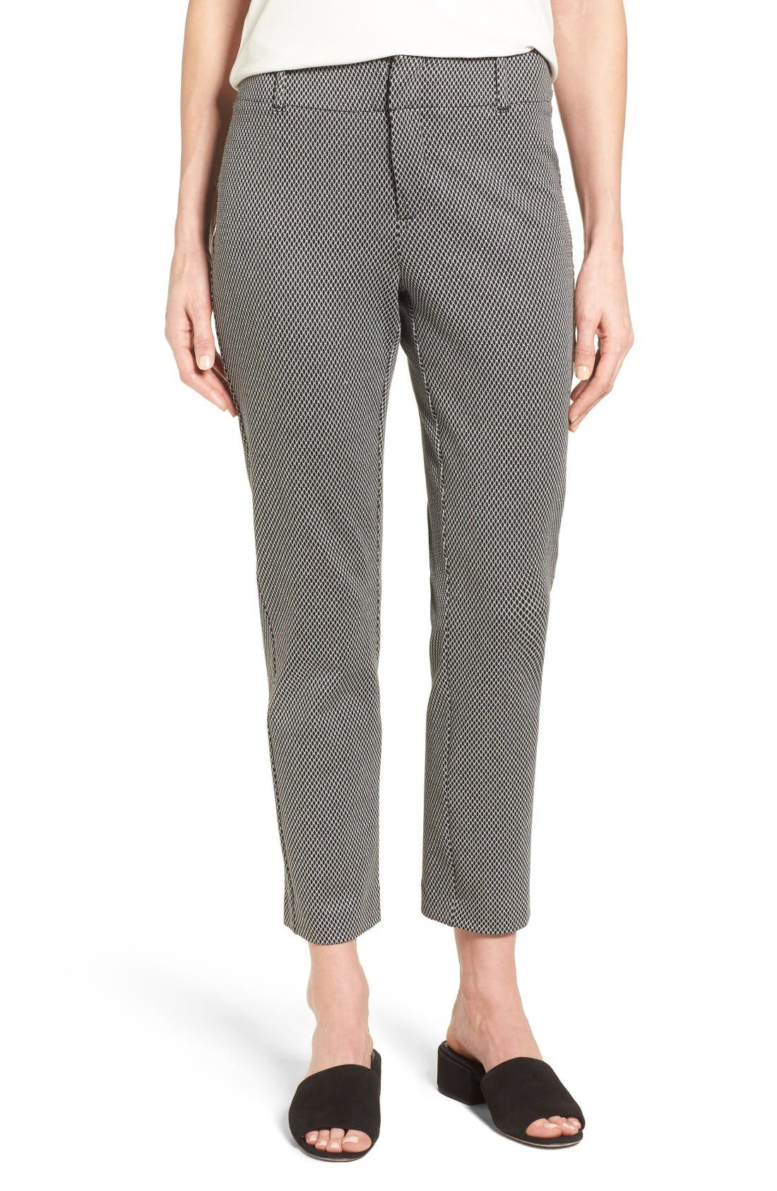 Alternate Image 1 Selected - NYDJ Renee Stretch Jacquard Ankle Pants