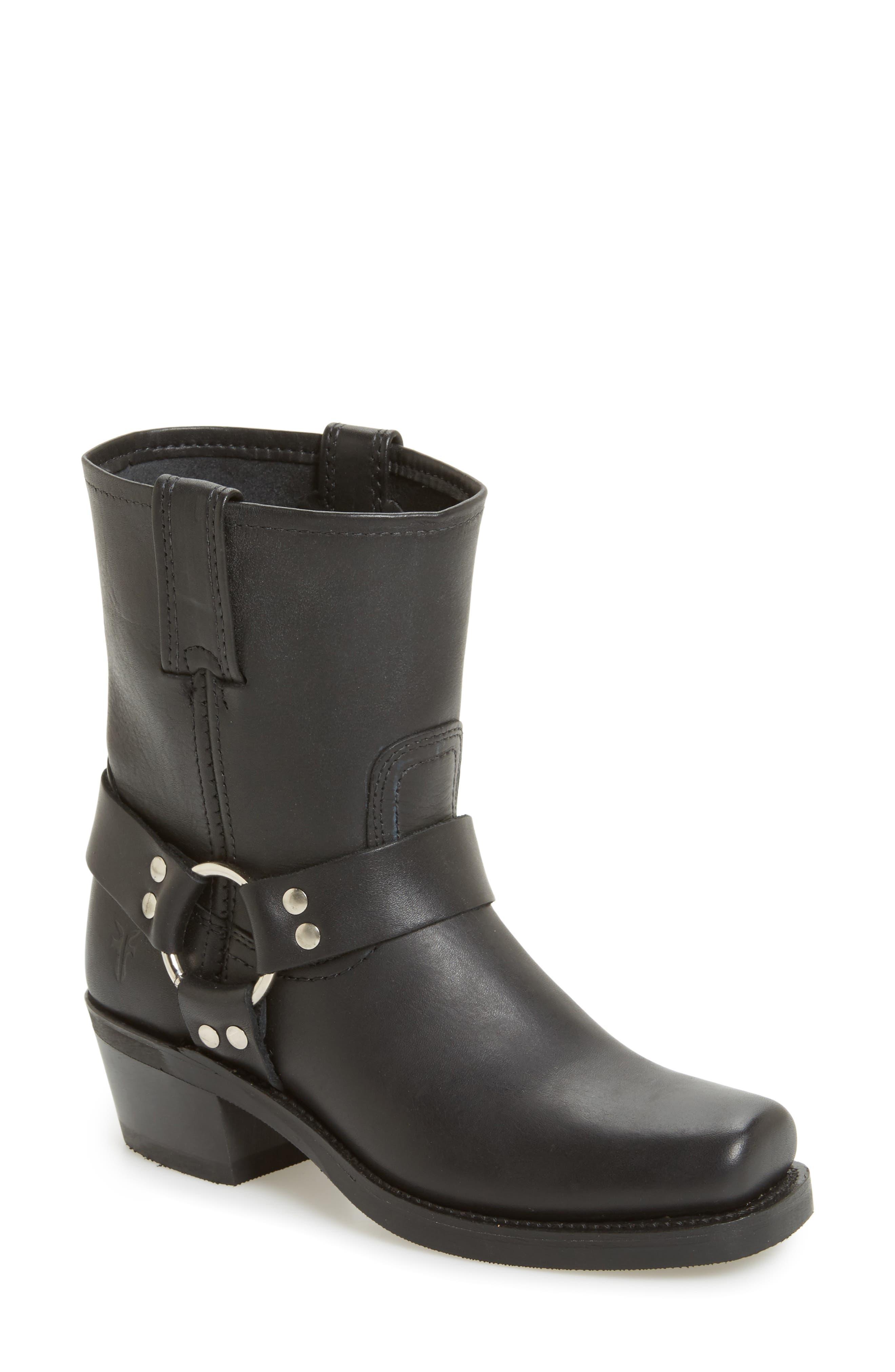Frye Harness Square Toe Engineer Boot (Women)
