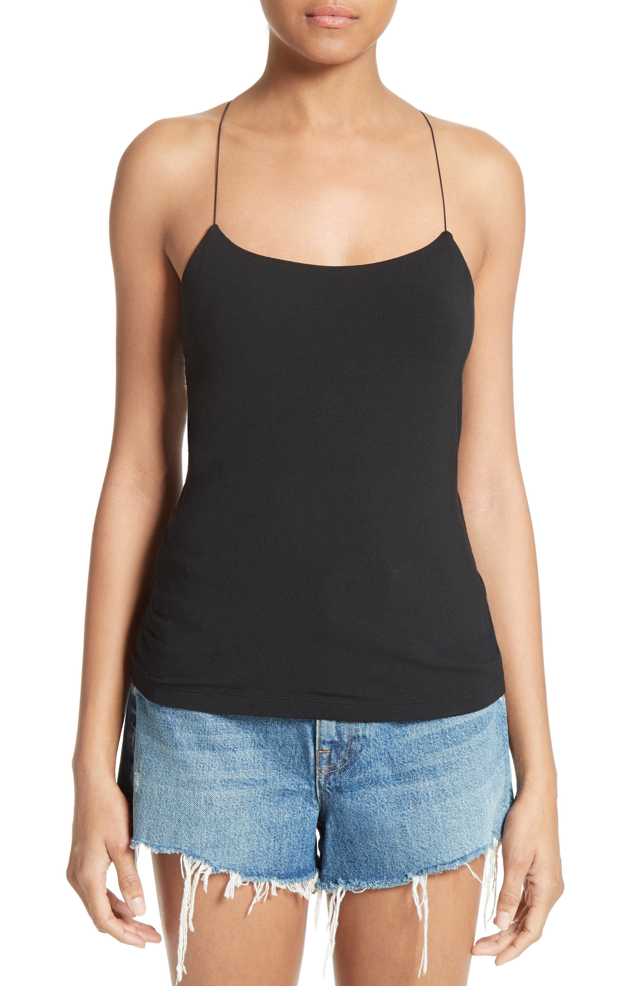 T by Alexander Wang Strappy Cami
