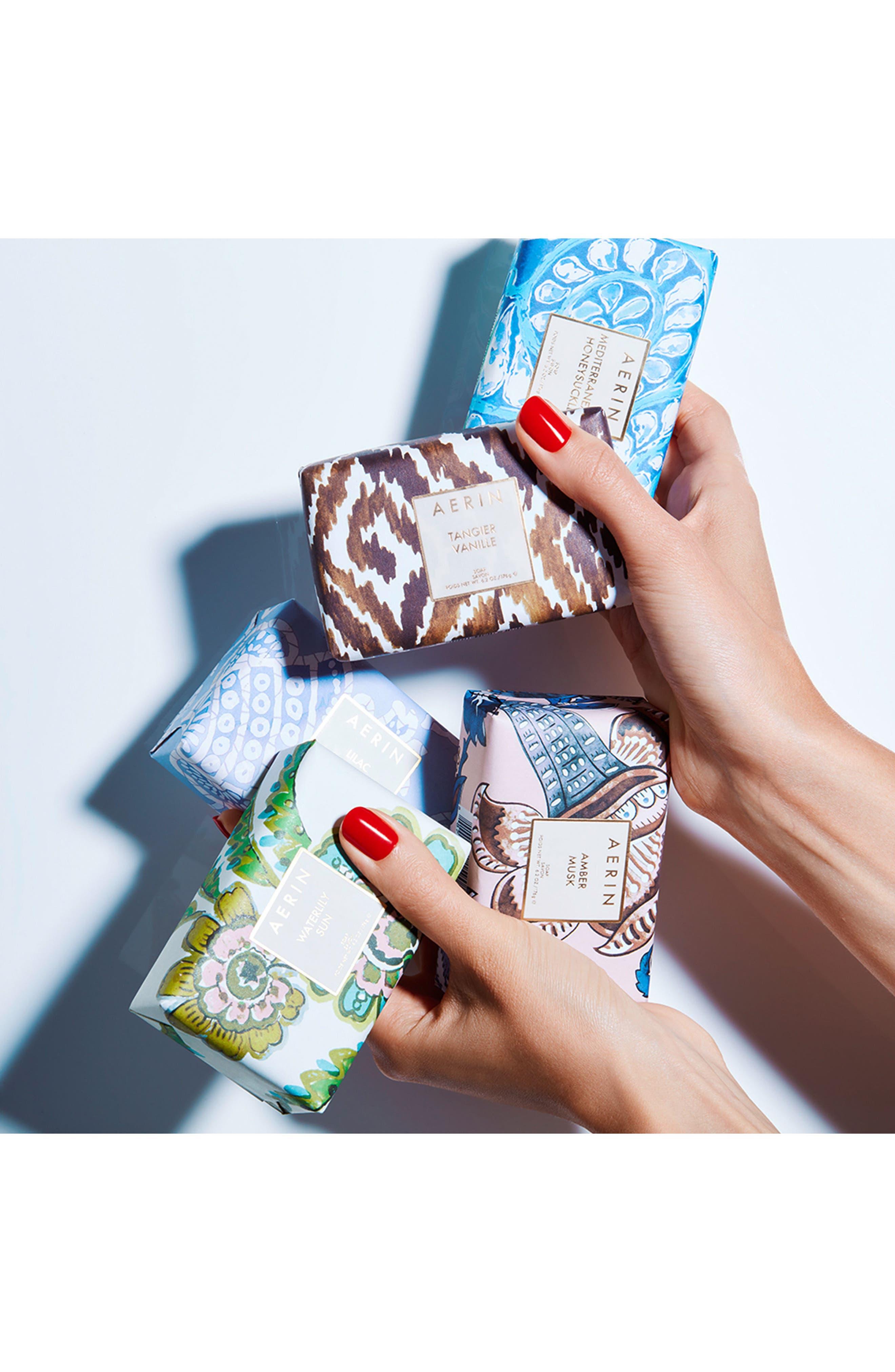 Alternate Image 2  - AERIN Beauty Amber Musk Soap