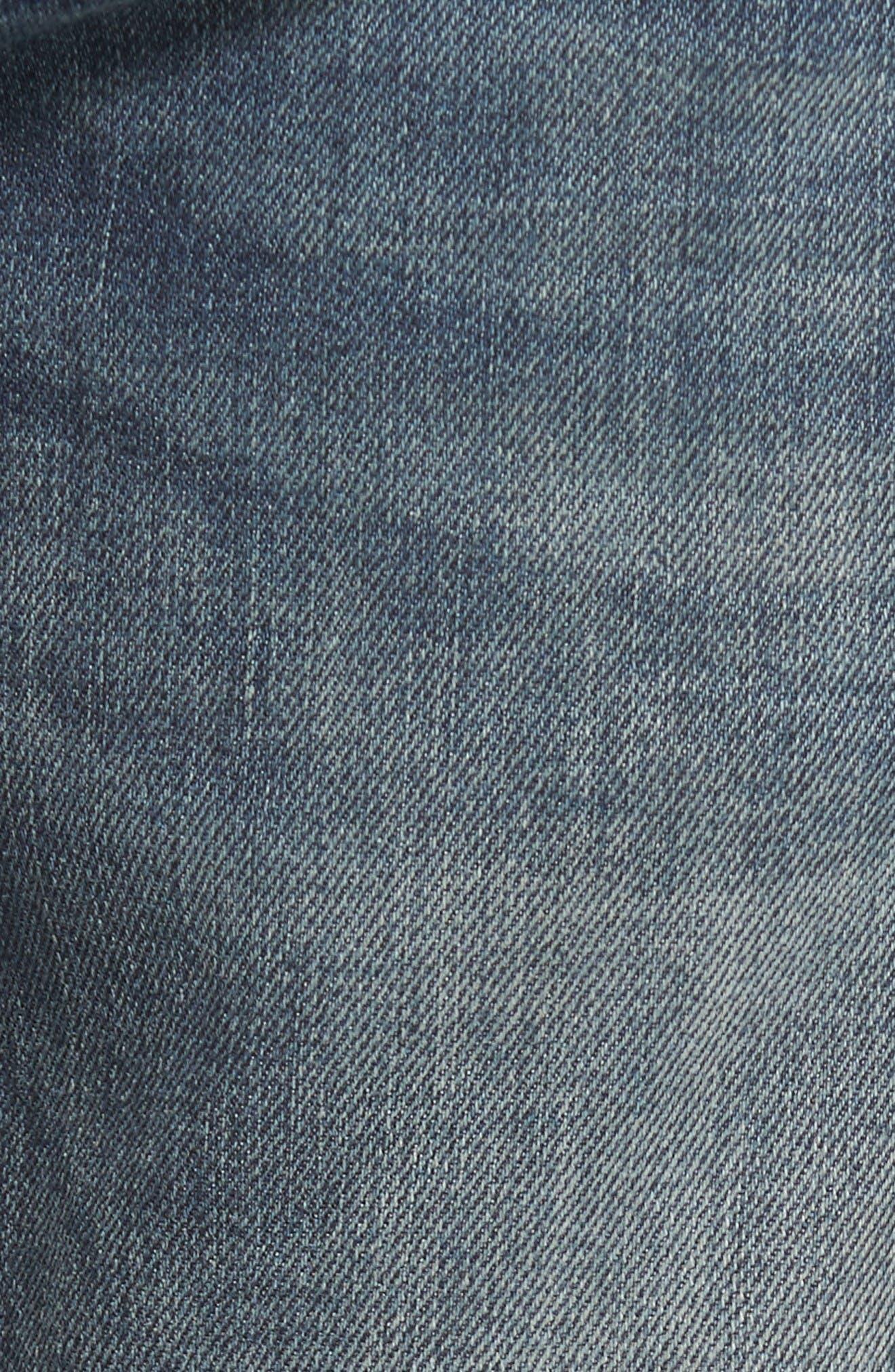 Safado Slim Straight Fit Jeans,                             Alternate thumbnail 5, color,                             860K