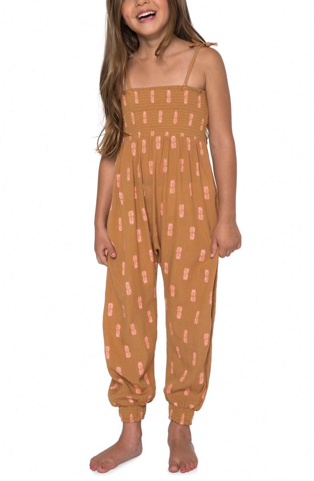 Alternate Image 1 Selected - O'Neill Romper (Toddler Girls & Little Girls)