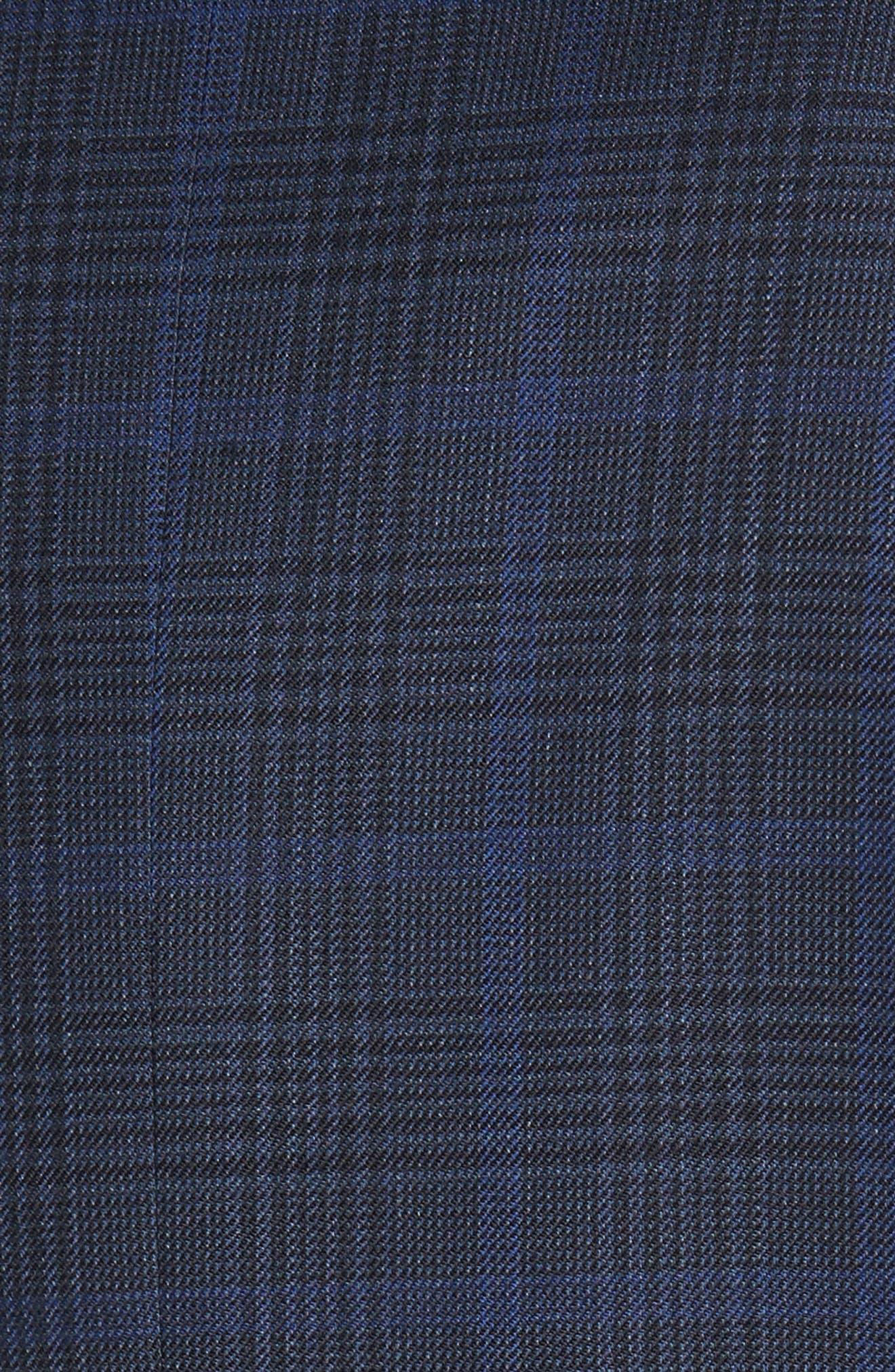 Alternate Image 5  - JB Britches Classic Fit Plaid Wool Sport Coat
