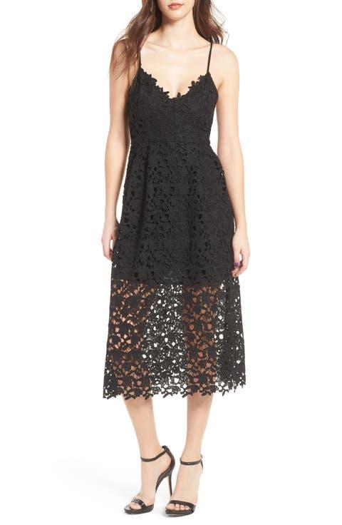 Women's Black Cocktail & Party Dresses   Nordstrom