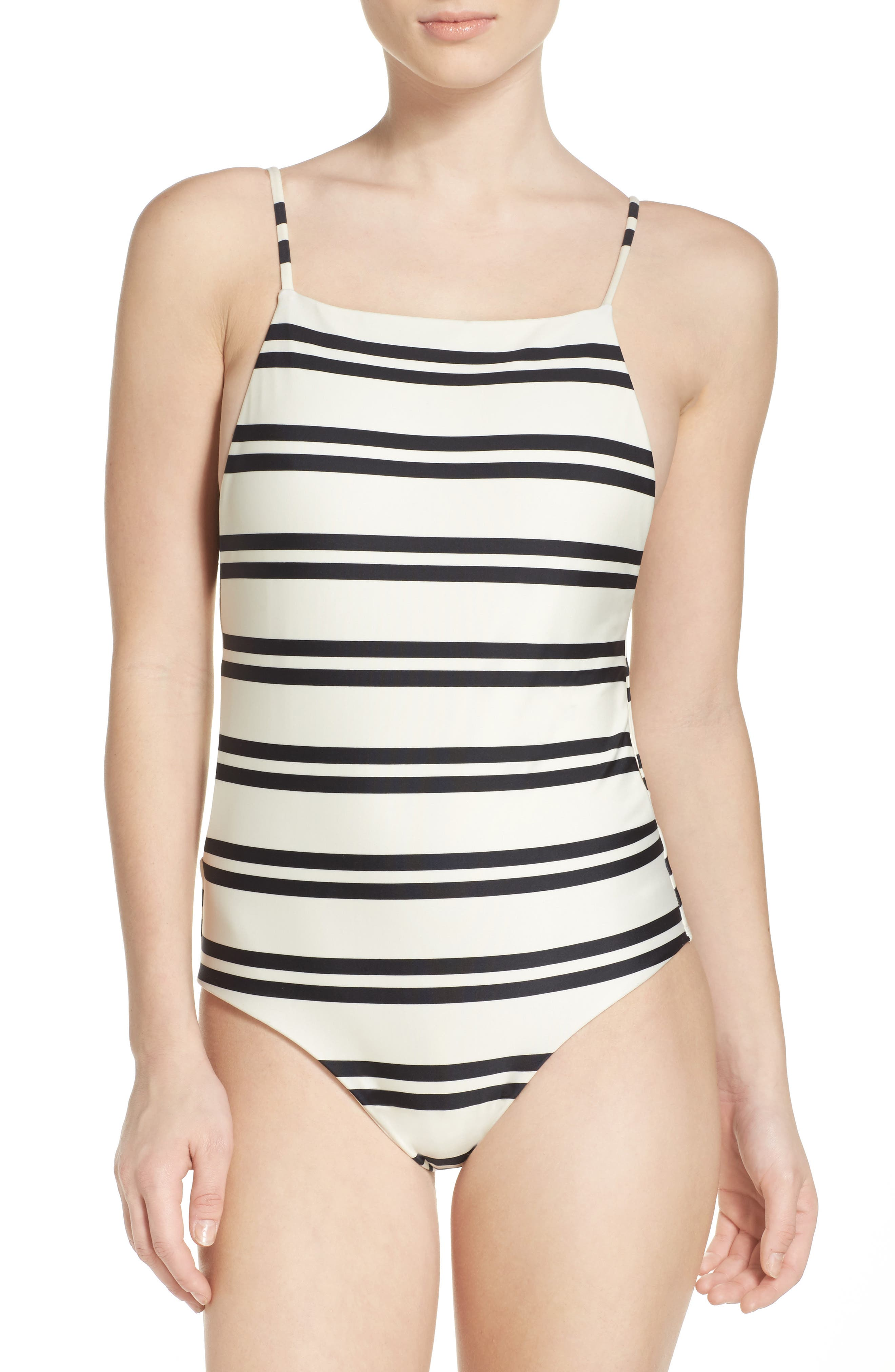 ViX Swimwear Classic Drop One-Piece Swimsuit