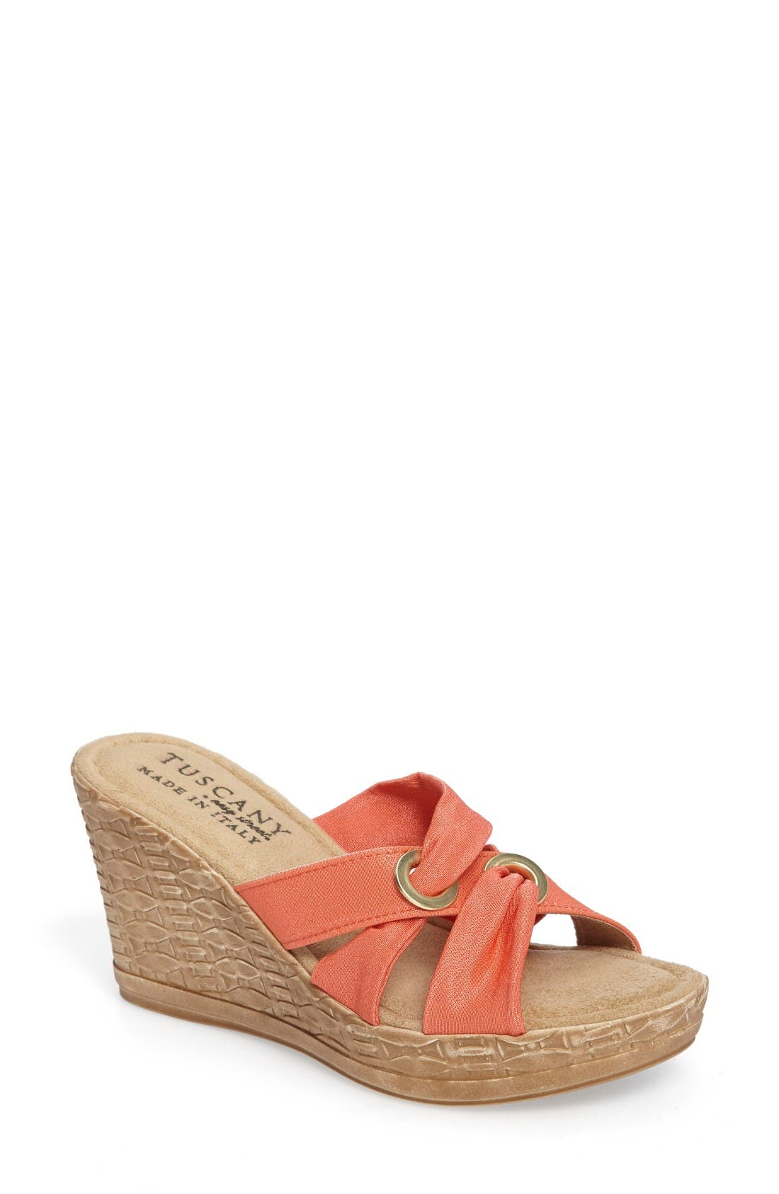 TUSCANY by Easy Street® Solaro Platform Wedge Sandal (Women)