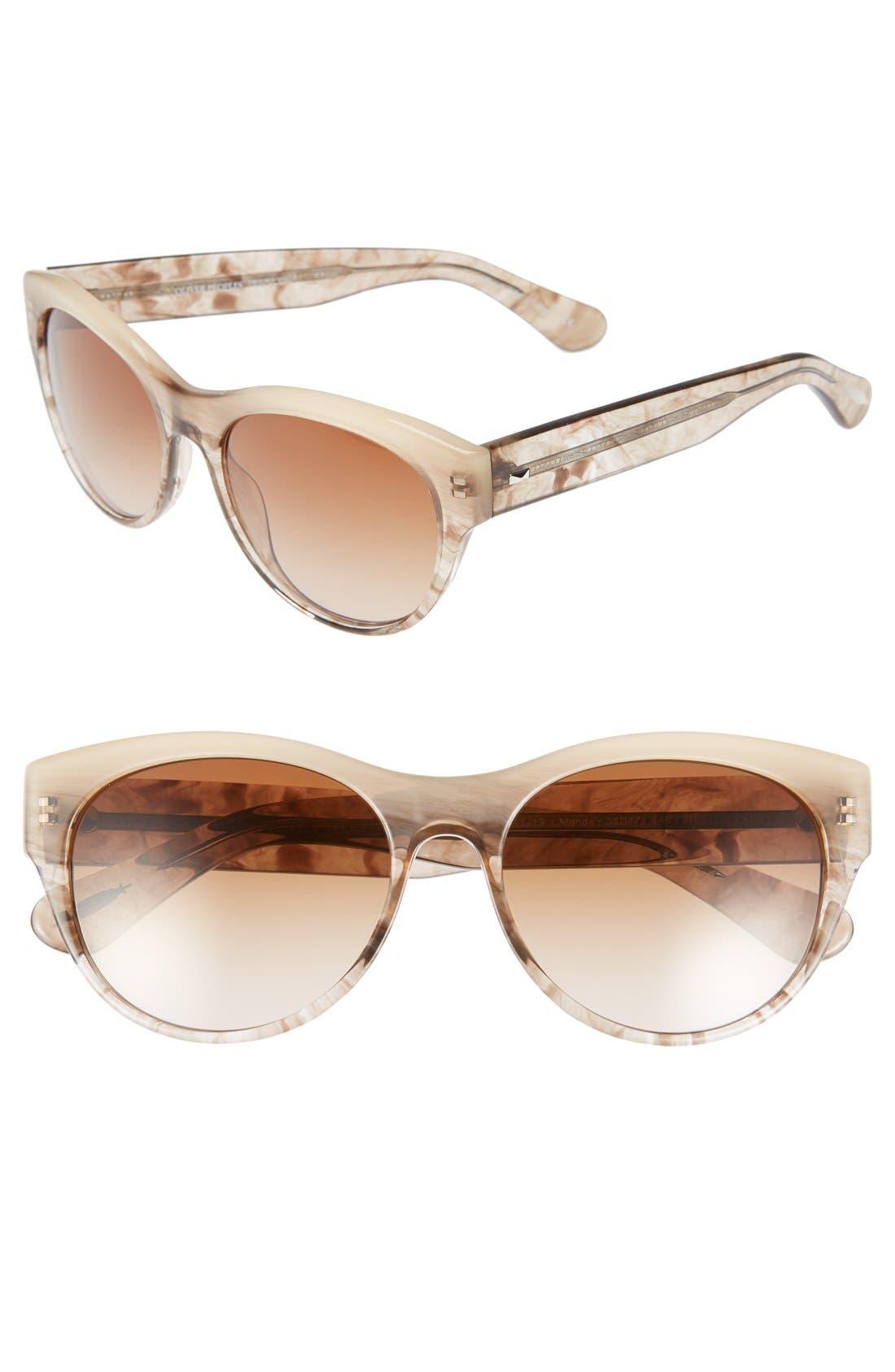 Alternate Image 1 Selected - Oliver Peoples 'Mande' 55mm Sunglasses