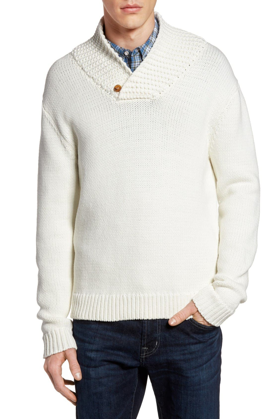 Flux Sweater,                             Main thumbnail 1, color,                             Winter White