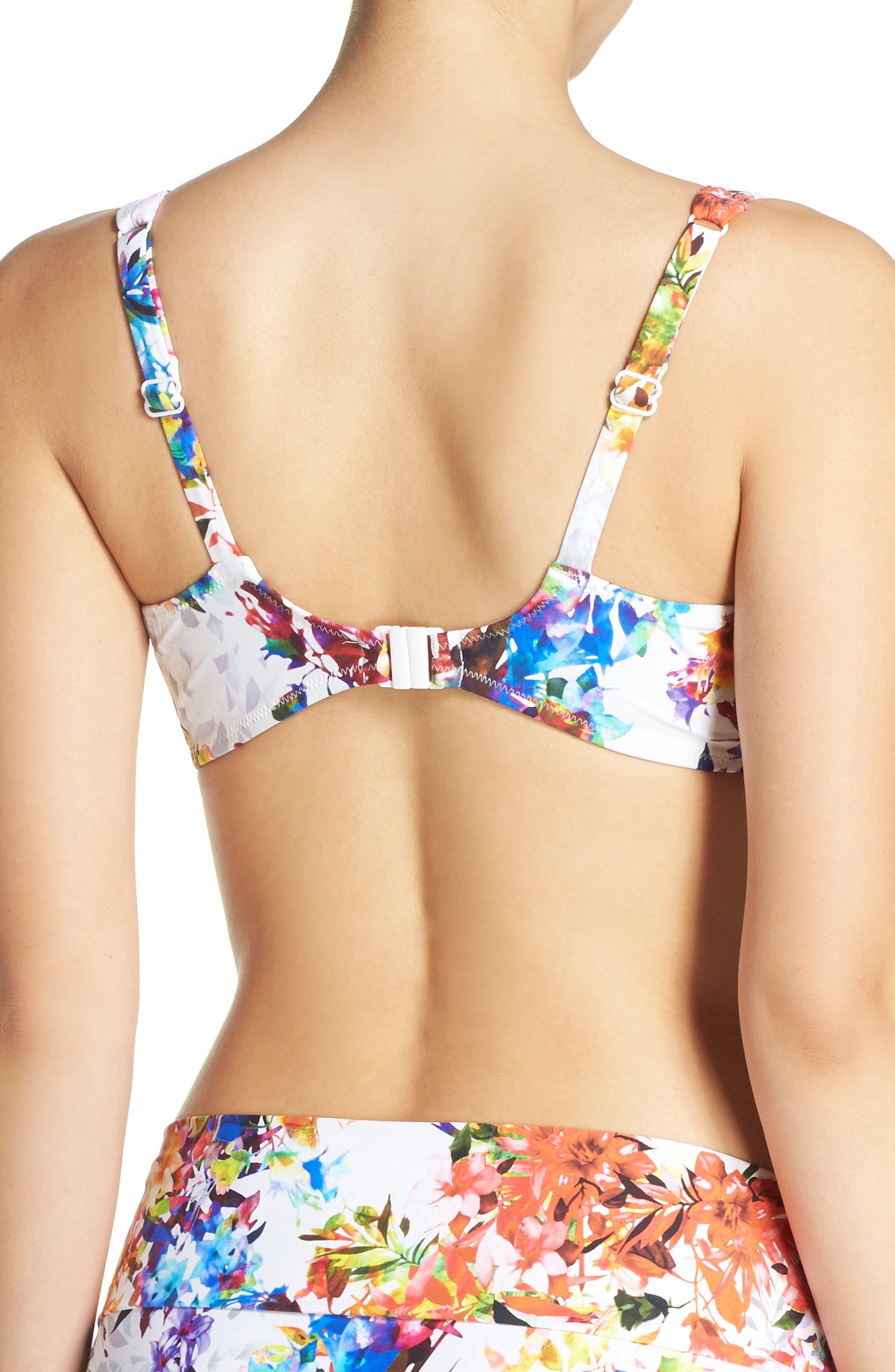 Alternate Image 2  - Fantasie Agra Underwire Bikini Top