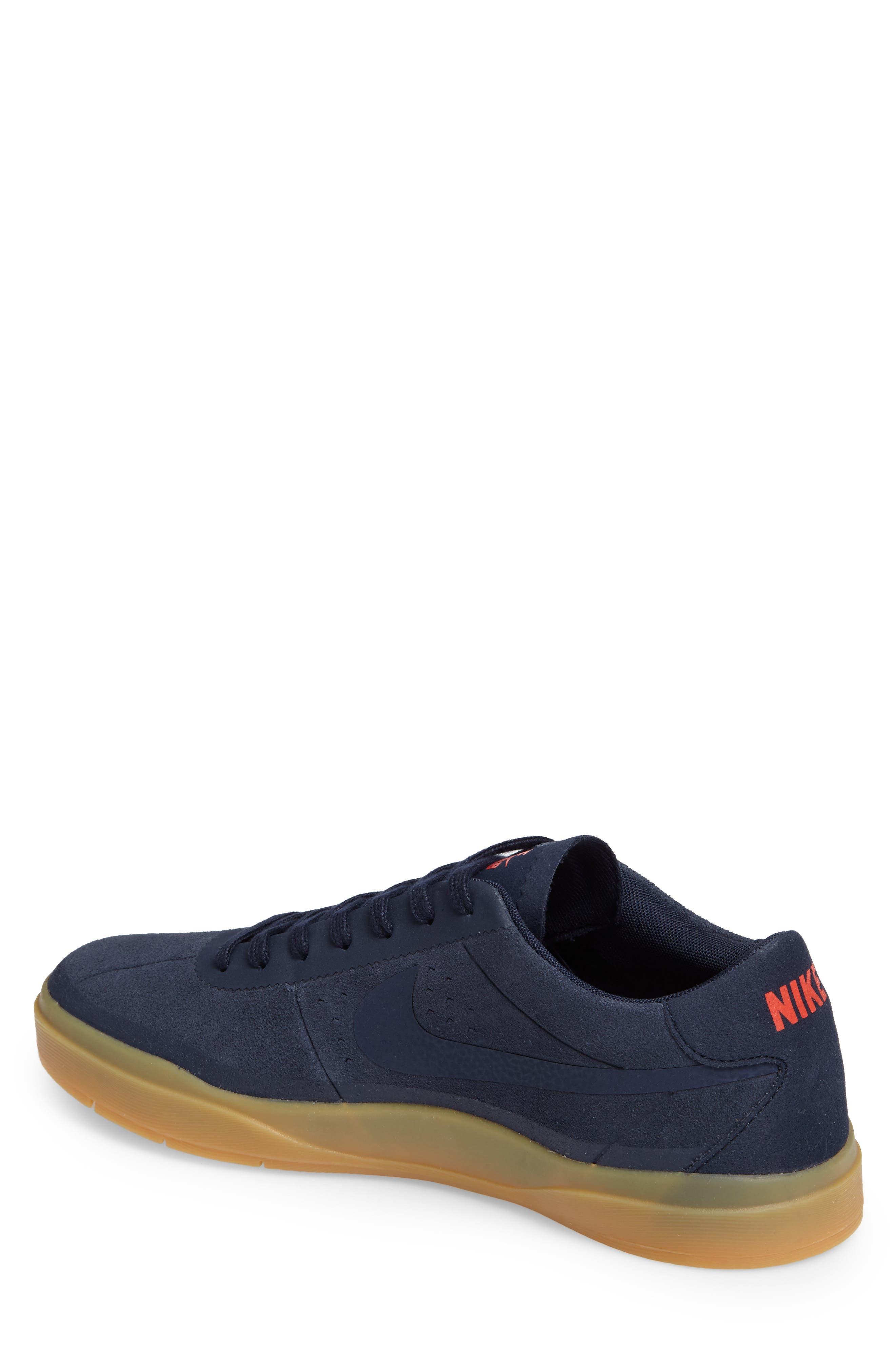 Bruin SB Hyperfeel Skate Shoe,                             Alternate thumbnail 2, color,                             Obsidian/ Obsidian/ Gum