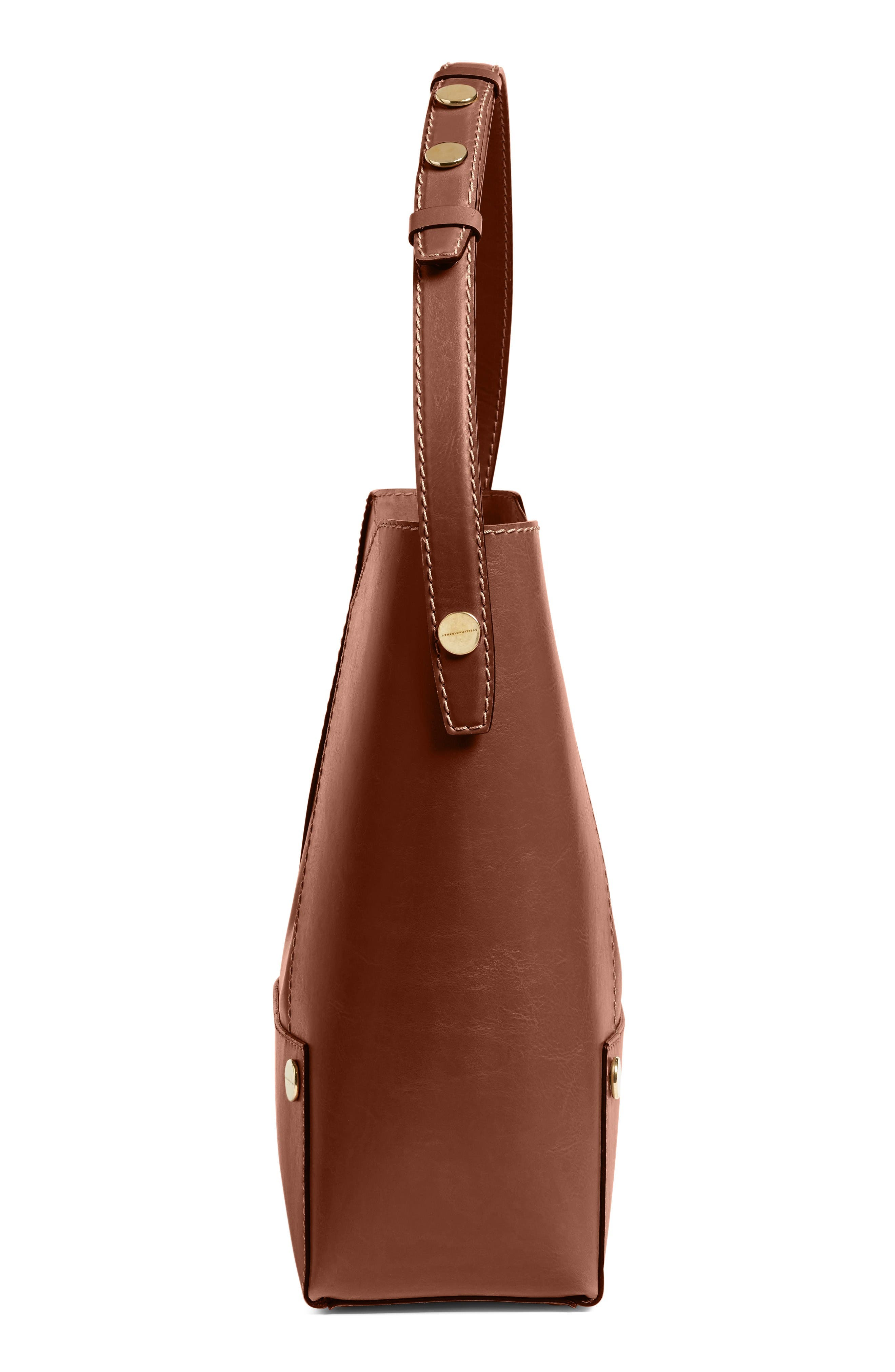 Alternate Image 4  - Stella McCartney Popper Faux Leather Bucket Bag