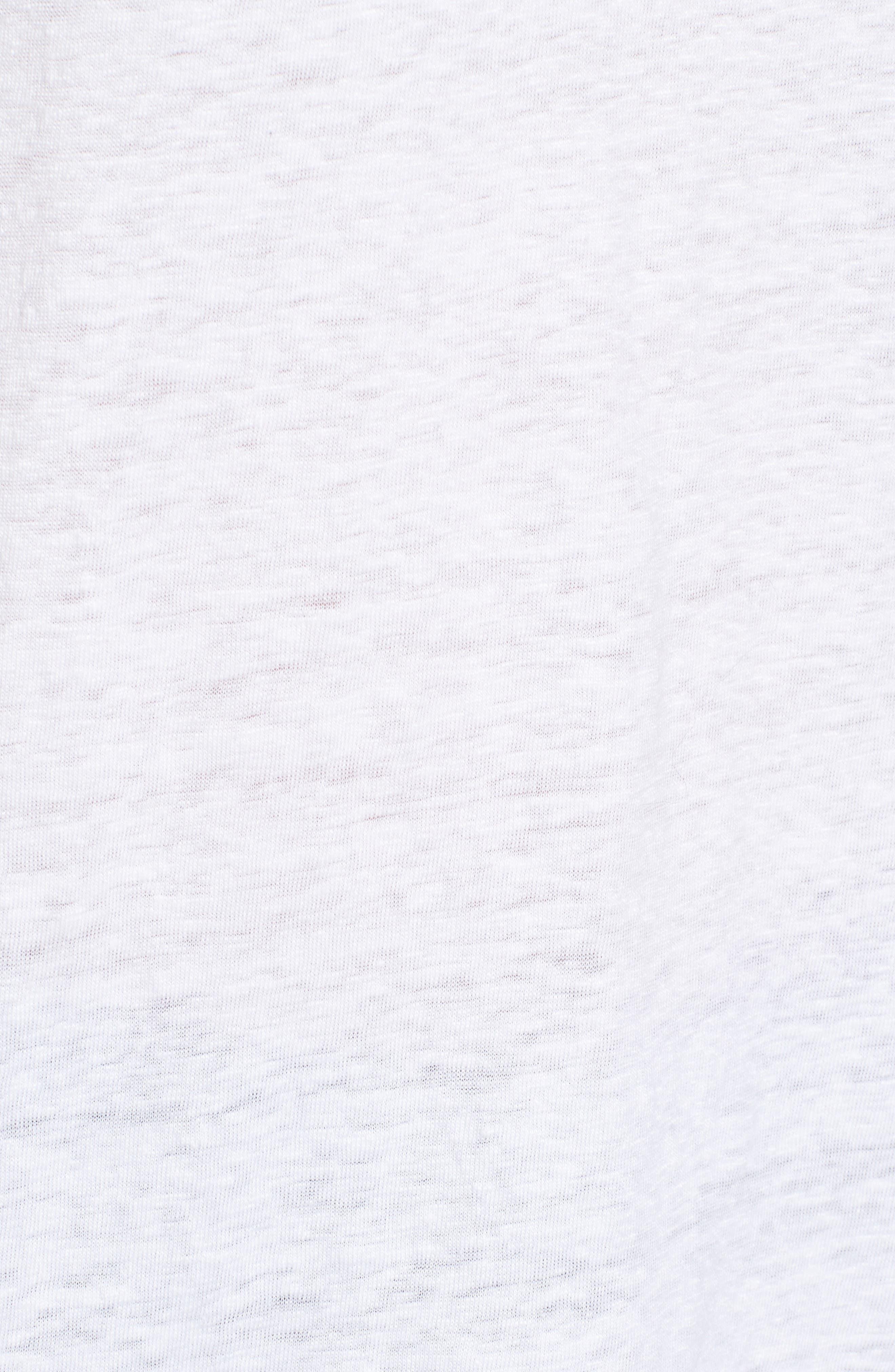 Alternate Image 6  - Eileen Fisher U-Neck Organic Linen Tank (Regular & Petite)
