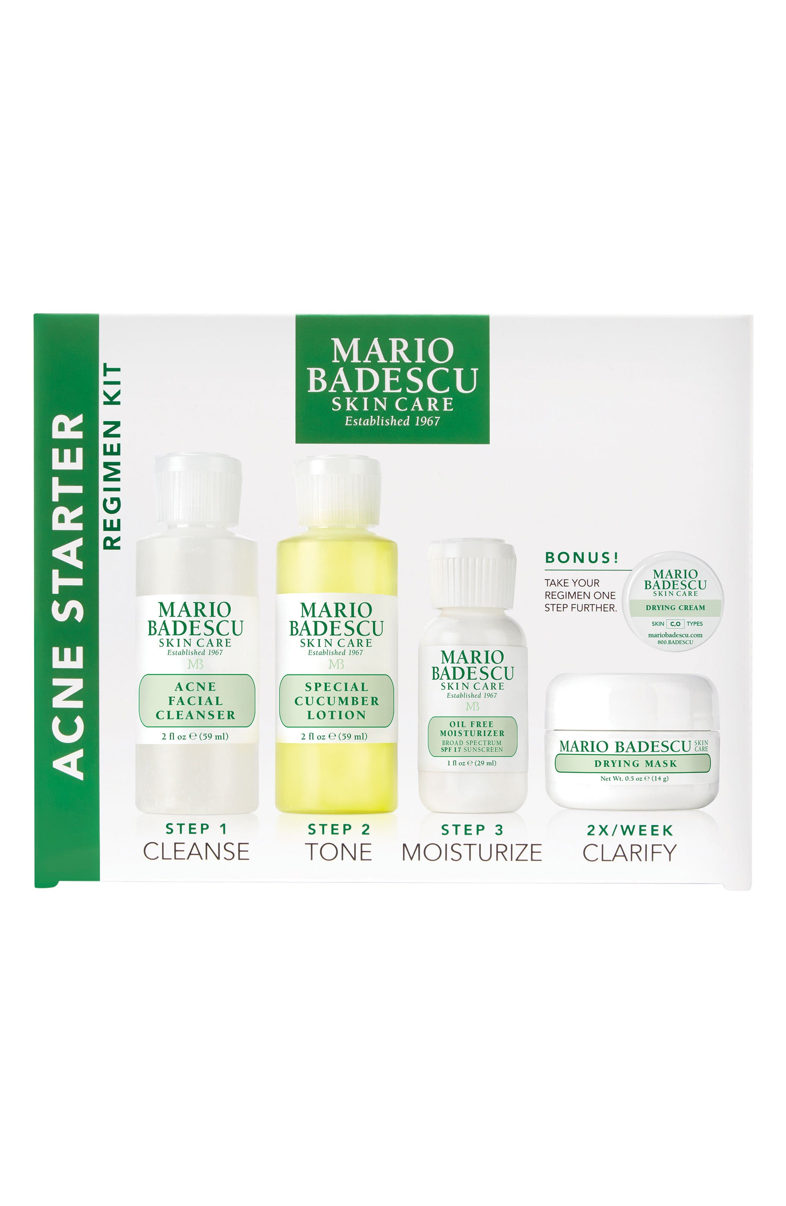 Acne Starter Regimen Kit,                             Main thumbnail 1, color,                             No Color