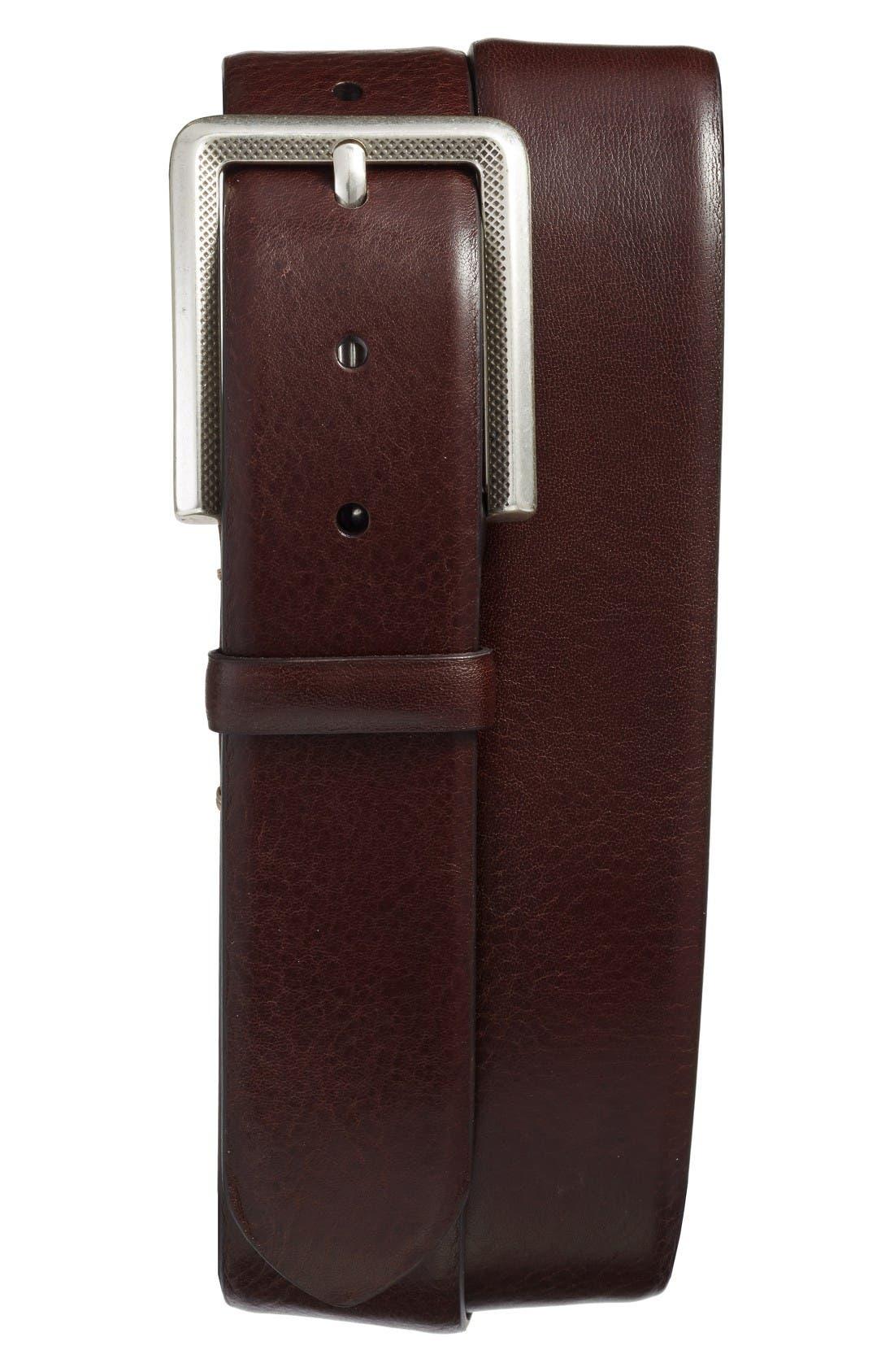 Mezlan Vaqueta Leather Belt