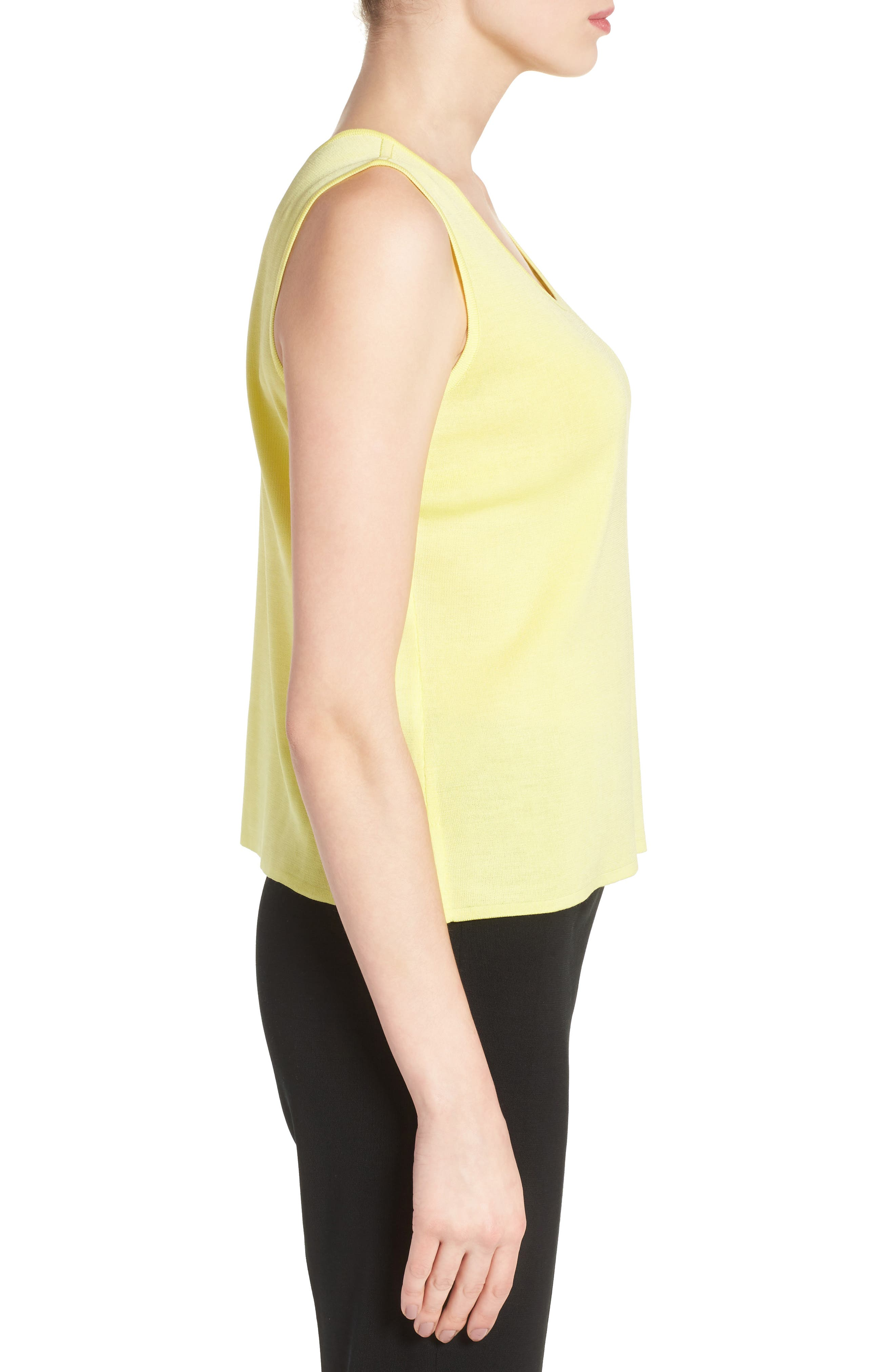 Alternate Image 3  - Ming Wang Scoop Neck Knit Tank