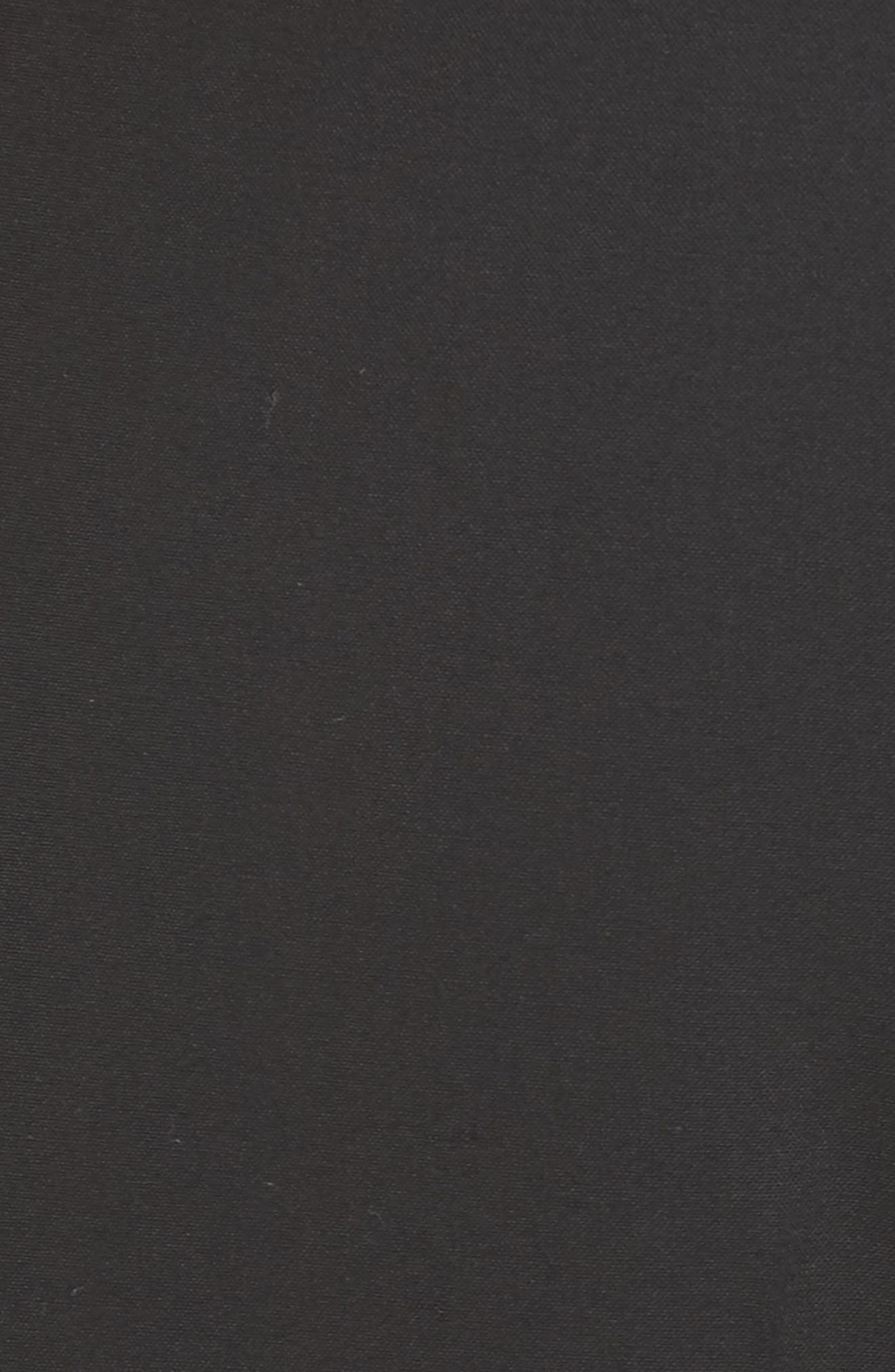 Demitria Flare Leg Good Wool Suit Pants,                             Alternate thumbnail 5, color,                             Black