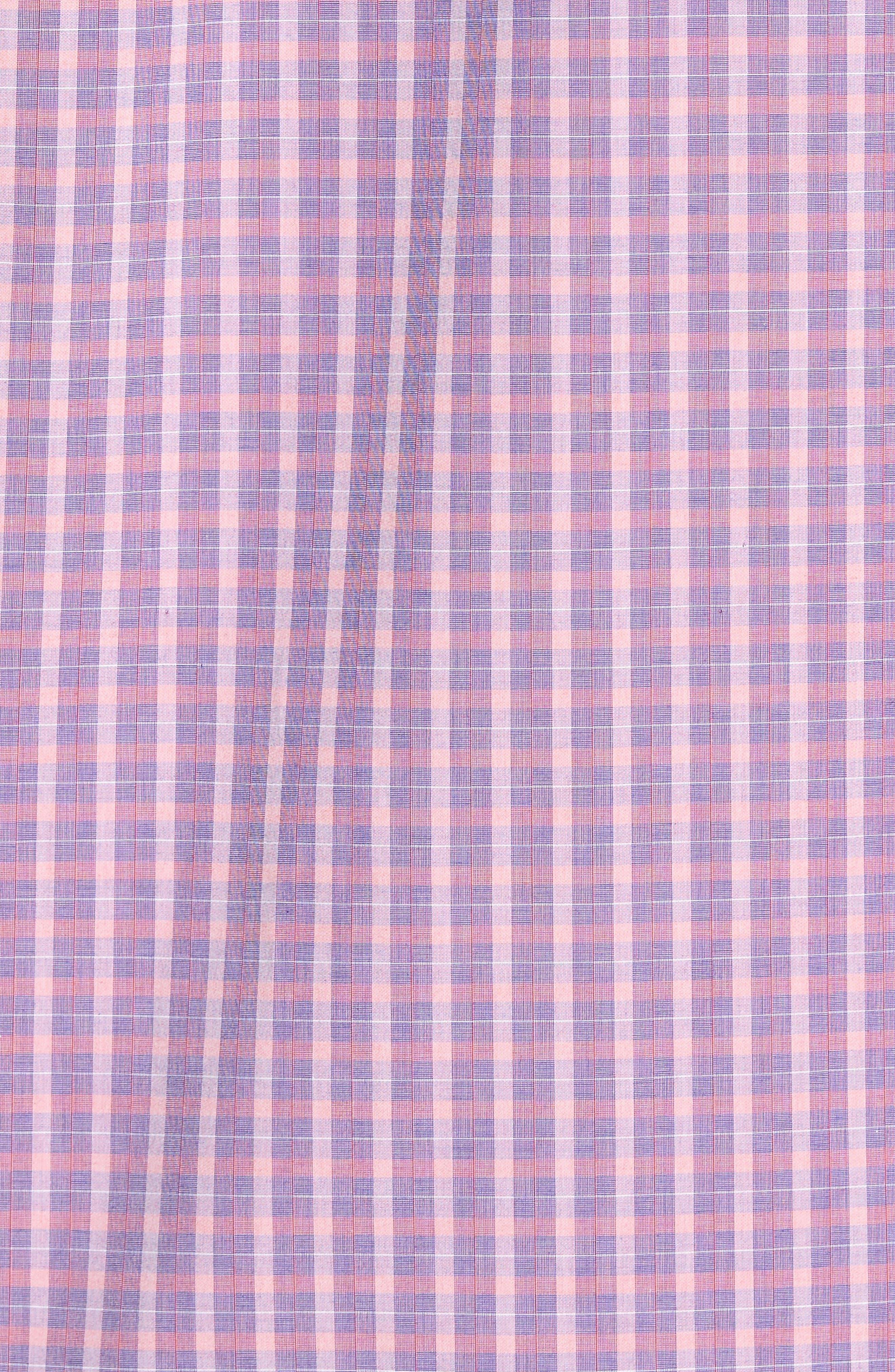Alternate Image 5  - Zachary Prell Trim Fit Plaid Sport Shirt