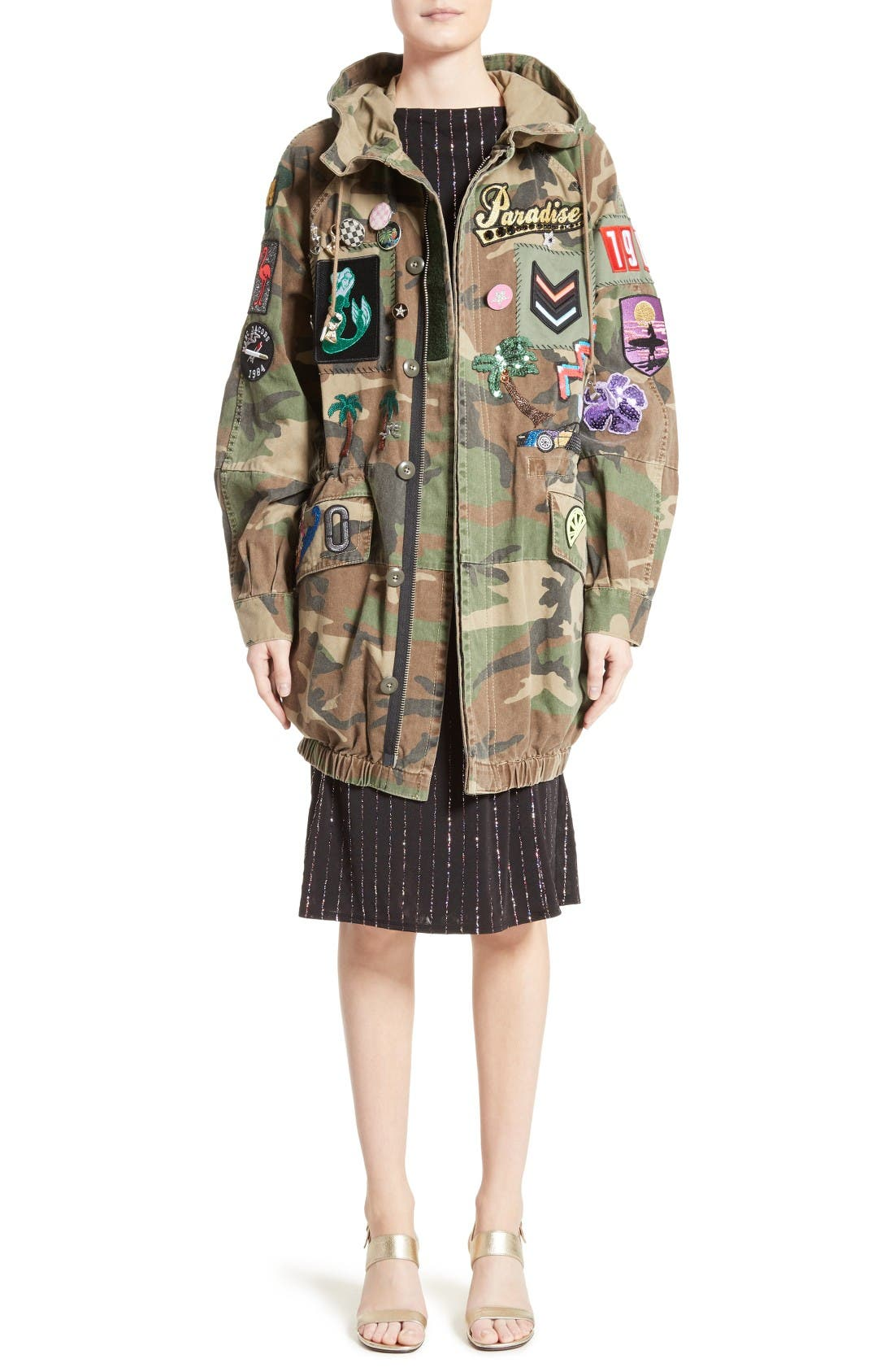 Alternate Image 6  - MARC JACOBS Camo Print Hooded Anorak