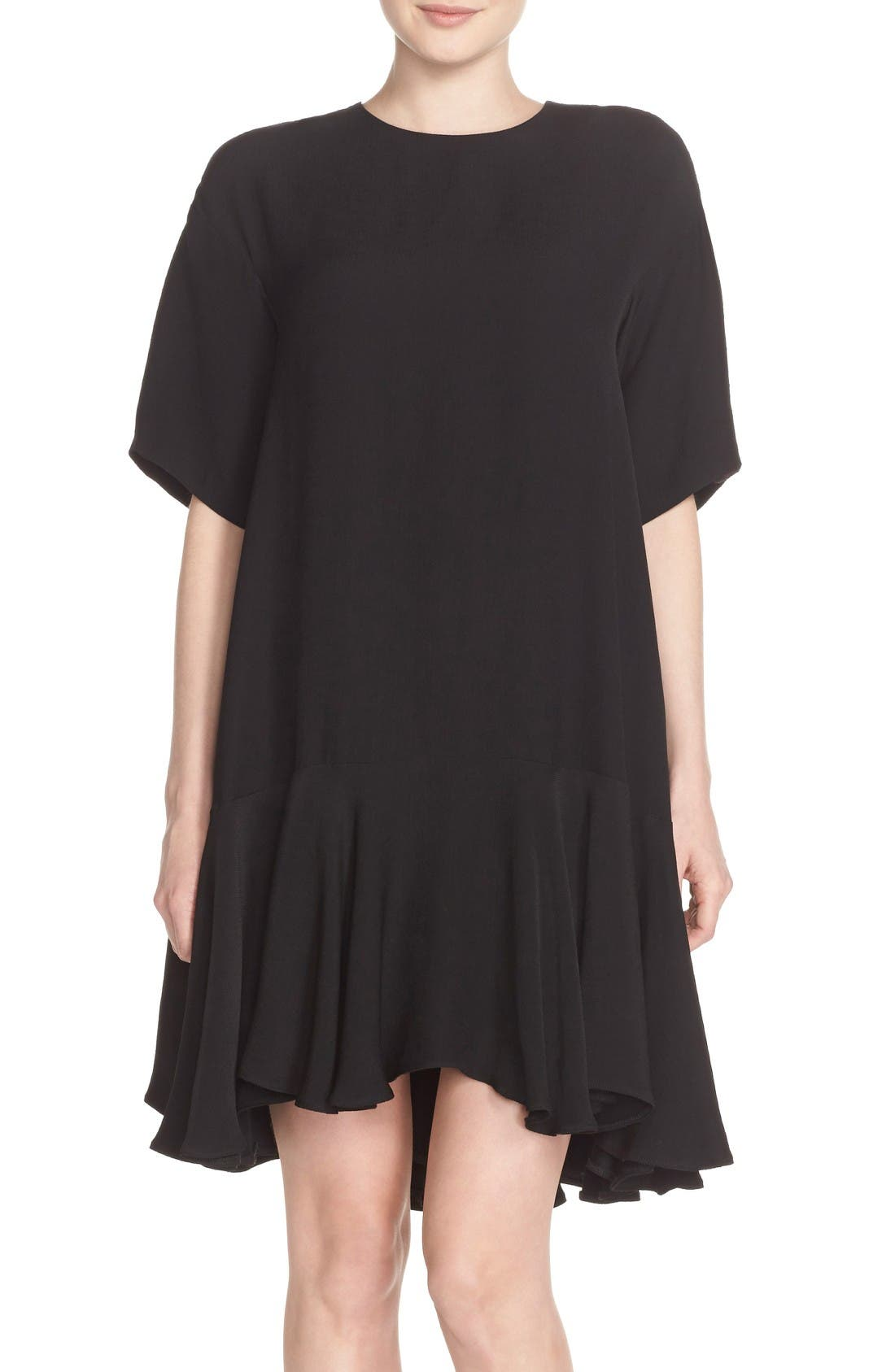 French Connection Drop Waist Knit Dress