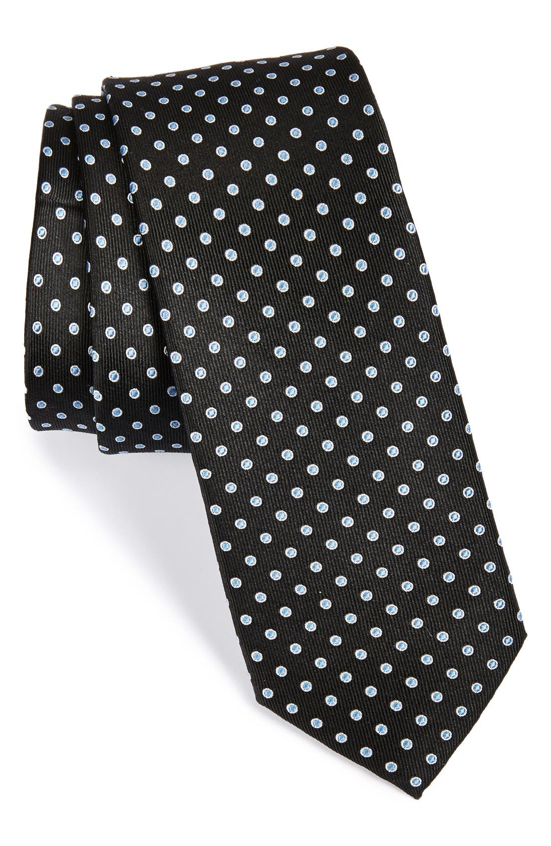 Main Image - 1901 'Grand Dot' Woven Silk Tie