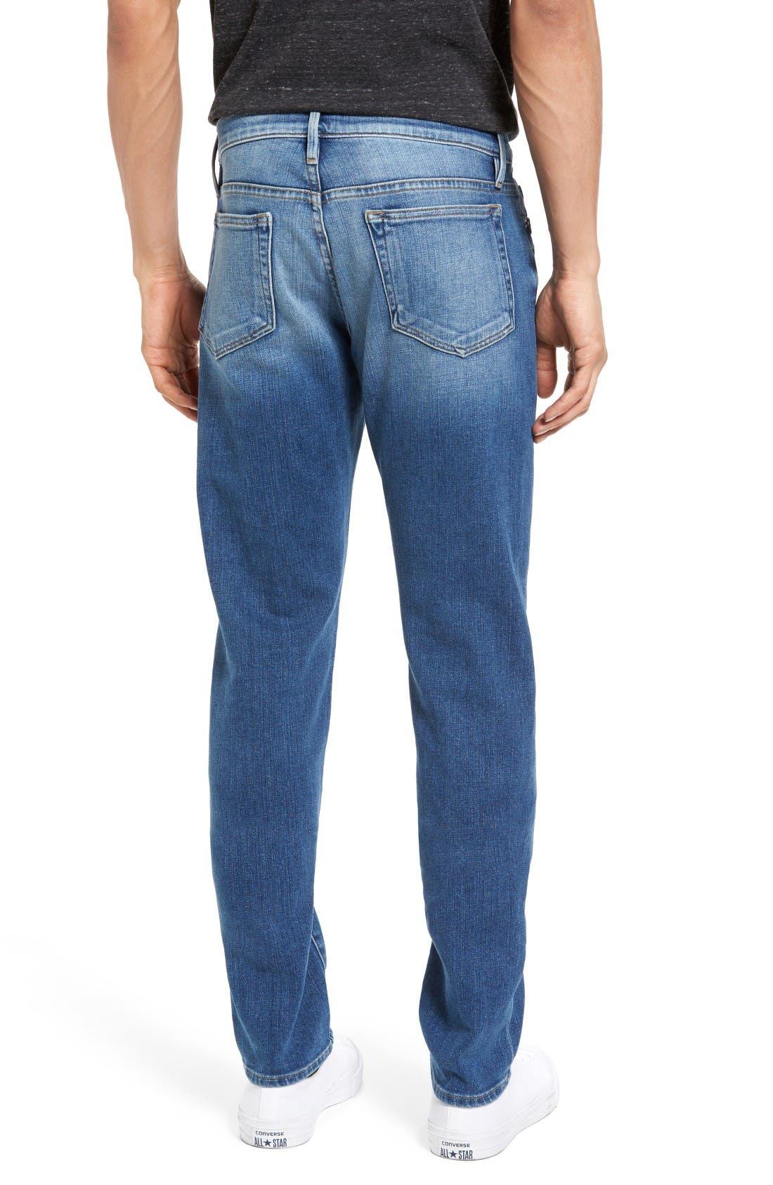 L'Homme Slim Fit Jeans,                             Alternate thumbnail 2, color,                             Palo Alto