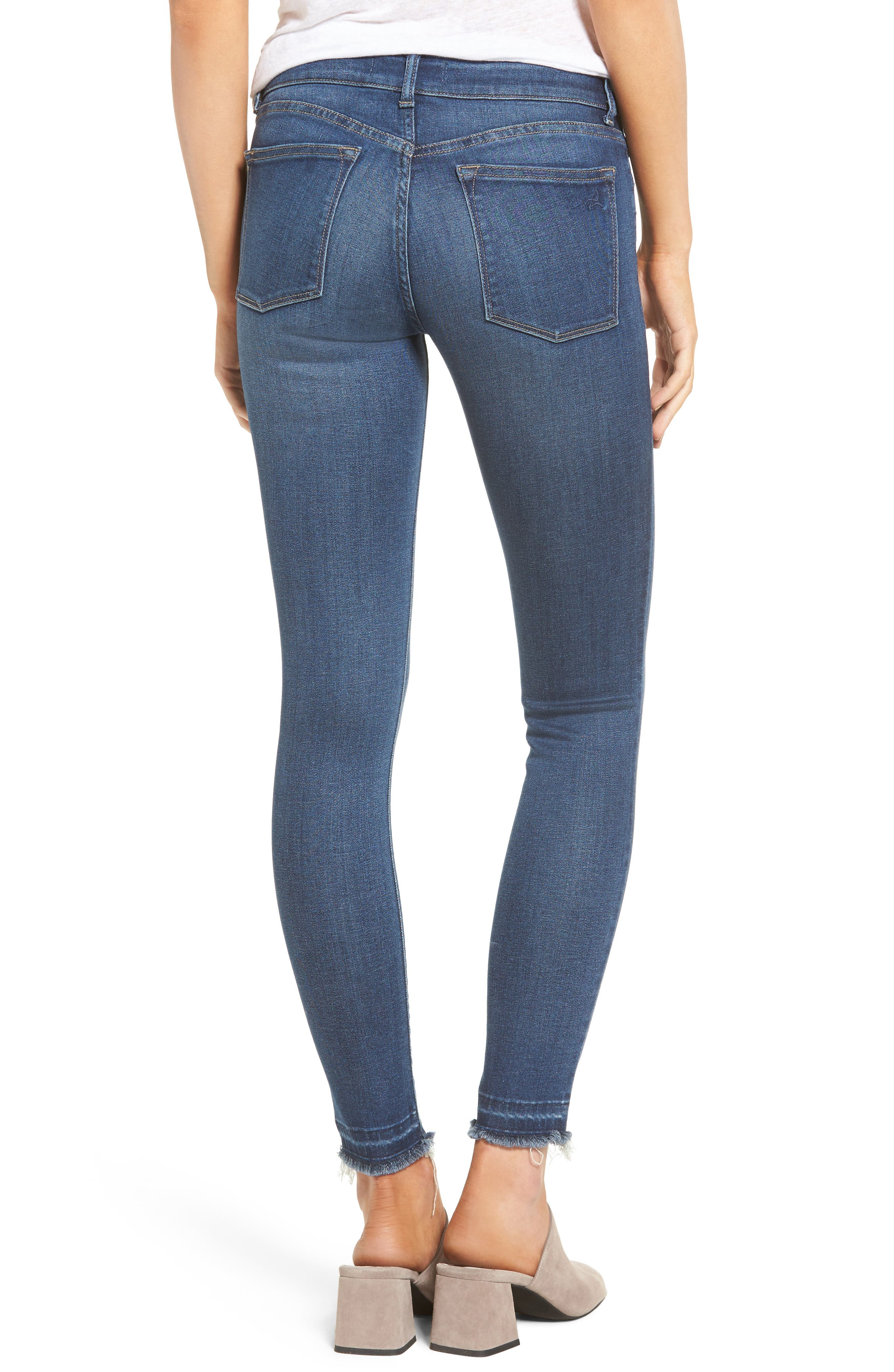 Alternate Image 2  - DL1961 Emma Power Legging Jeans (Quilter)
