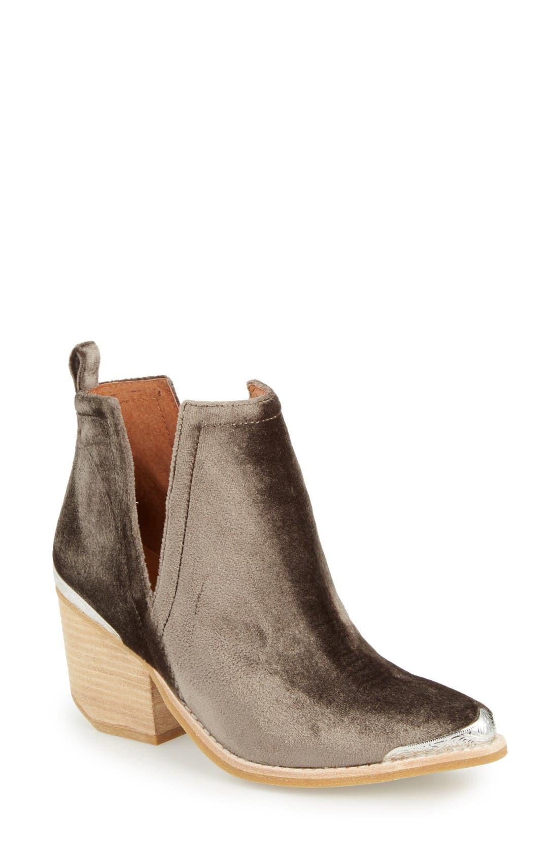 Jeffrey Campbell Cromwel Cutout Western Boot (Women)