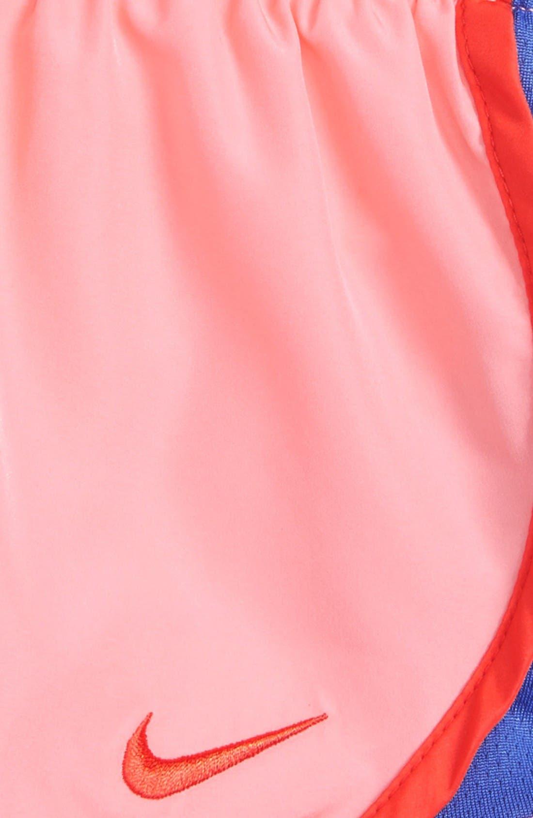 Alternate Image 2  - Nike Tempo Dri-FIT Shorts (Toddler Girls & Little Girls)