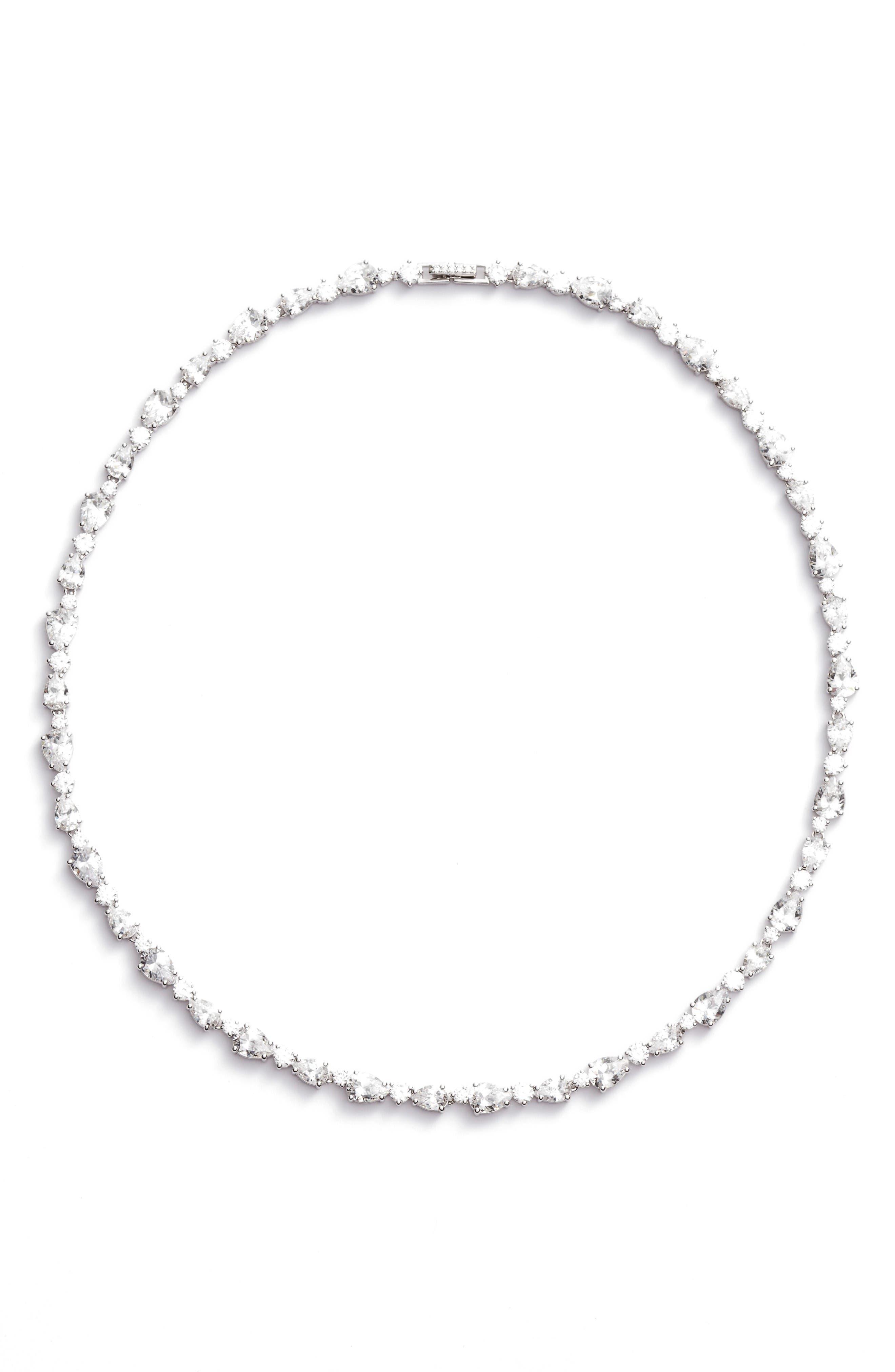 Nadri Ava Crystal Collar Necklace
