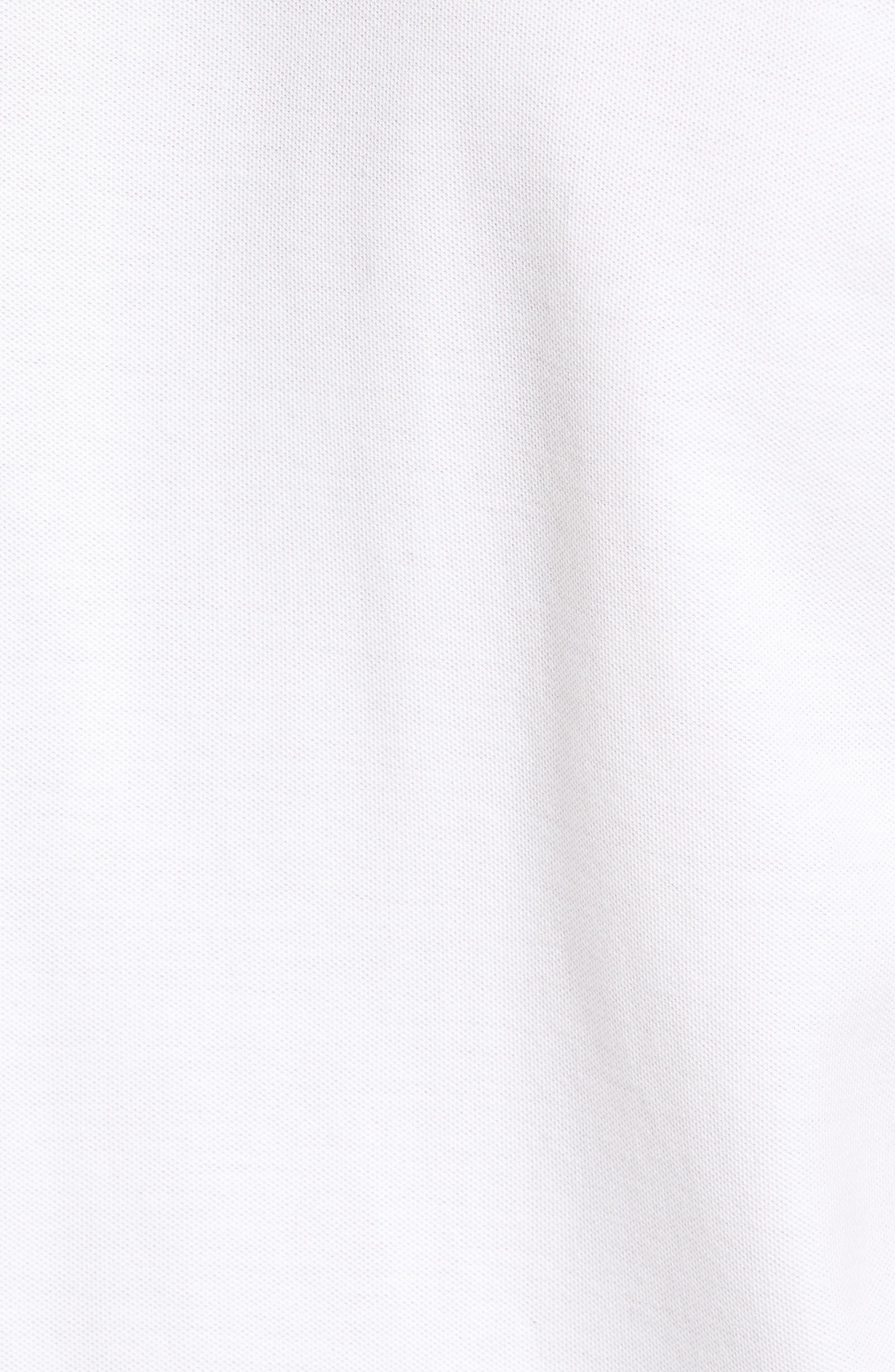 Palmetto Pima Cotton Shirt,                             Alternate thumbnail 5, color,                             White