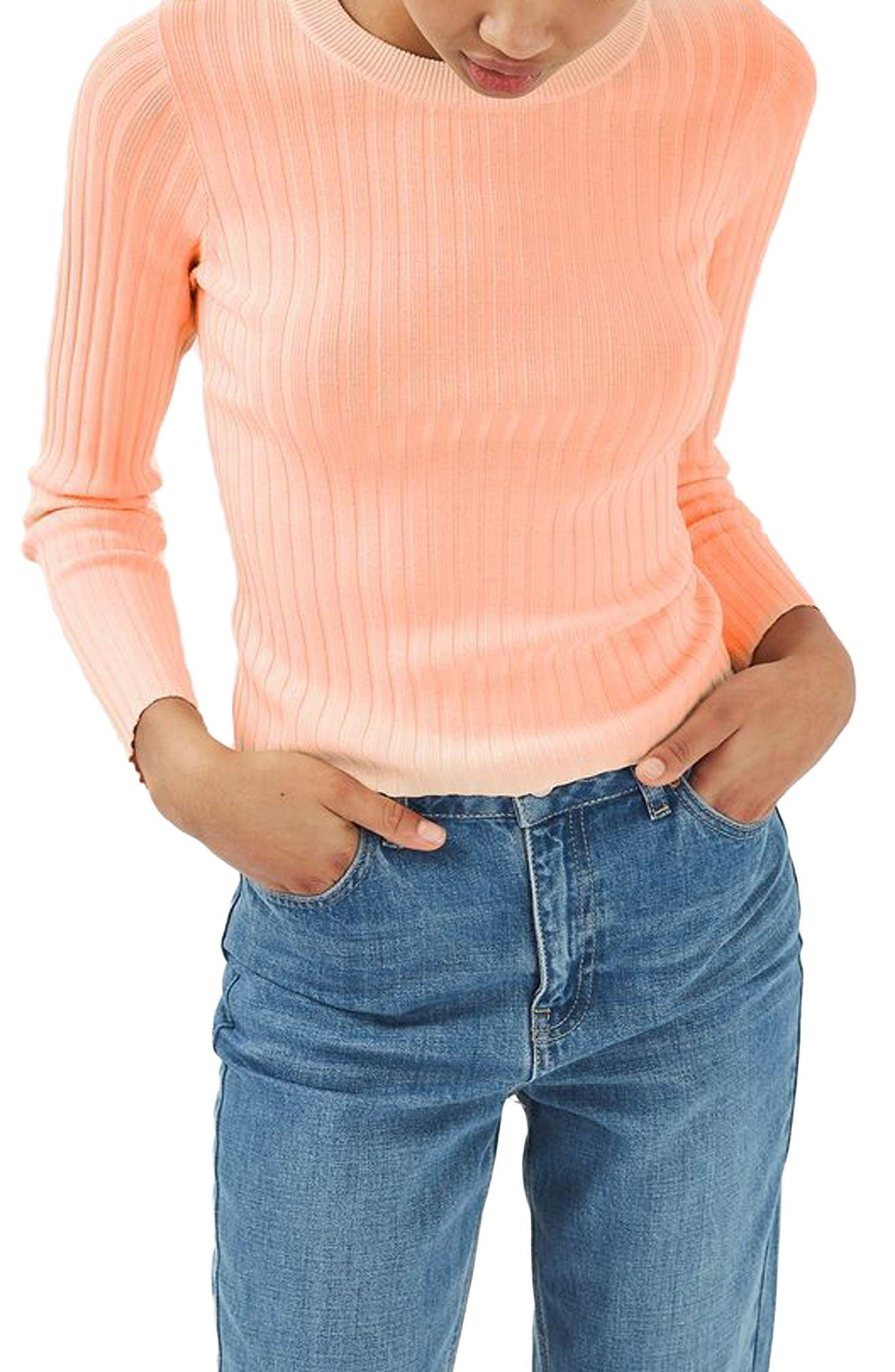 Alternate Image 2  - Topshop Strap Back Sweater