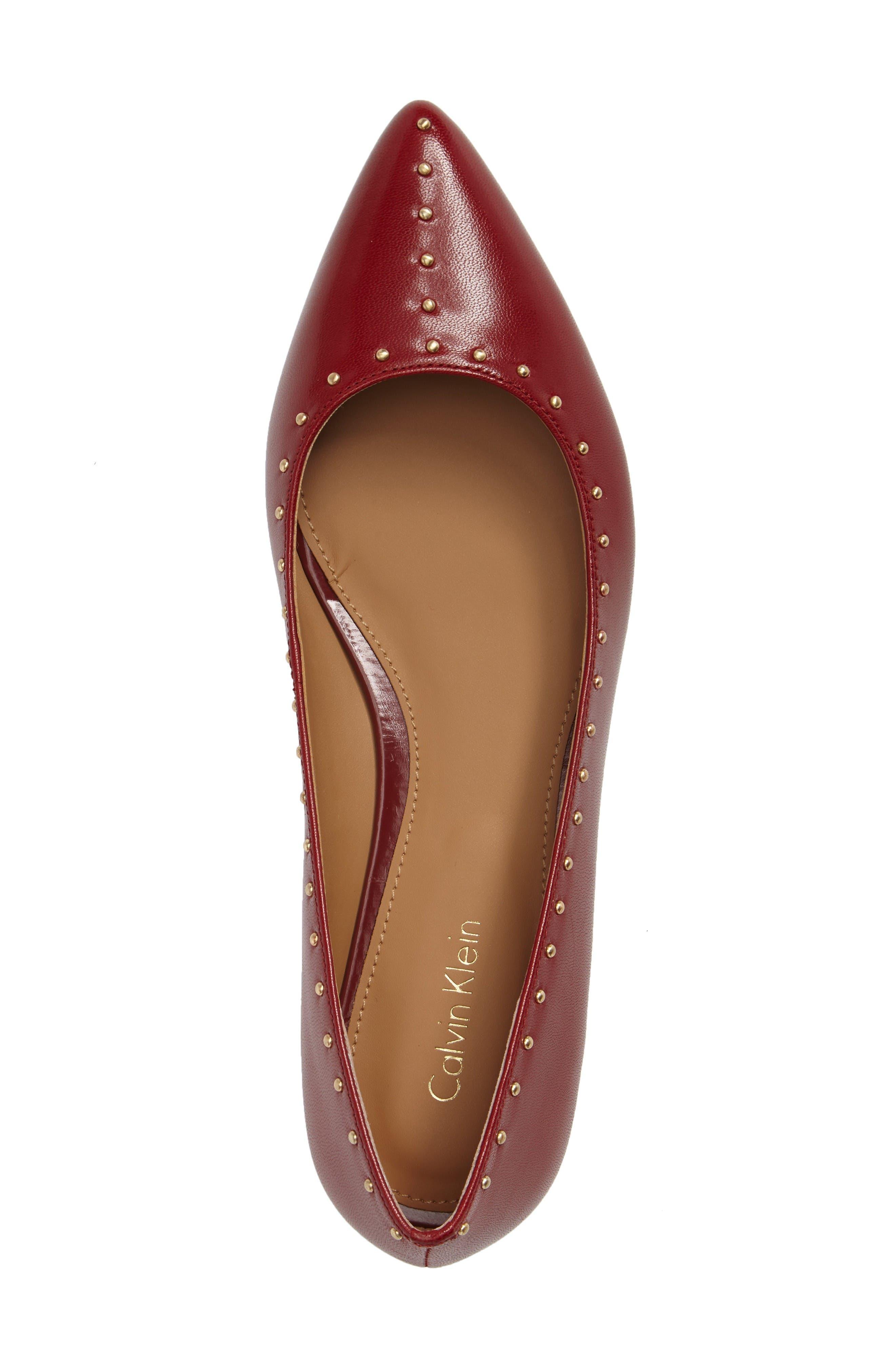 Alternate Image 3  - Calvin Klein Genie Pointy Toe Flat (Women)