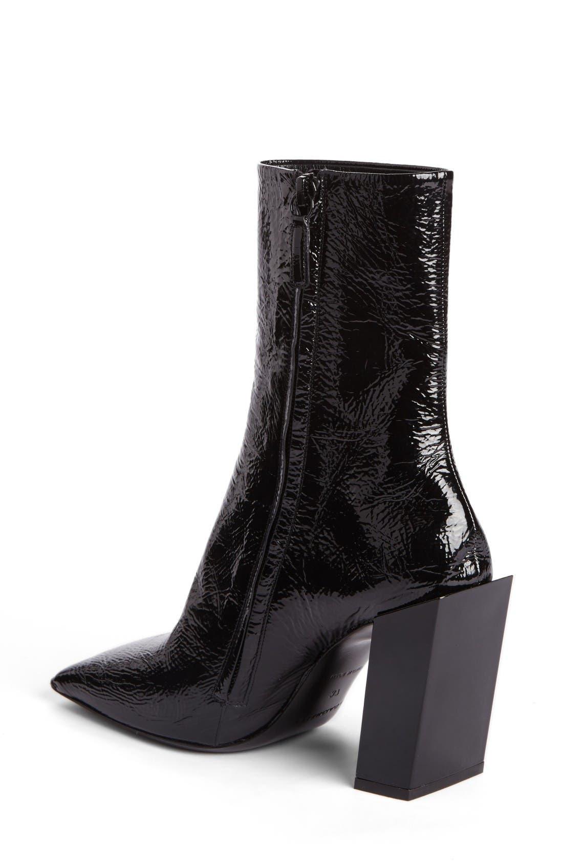 Alternate Image 2  - Balenciaga Square Toe Boot (Women)