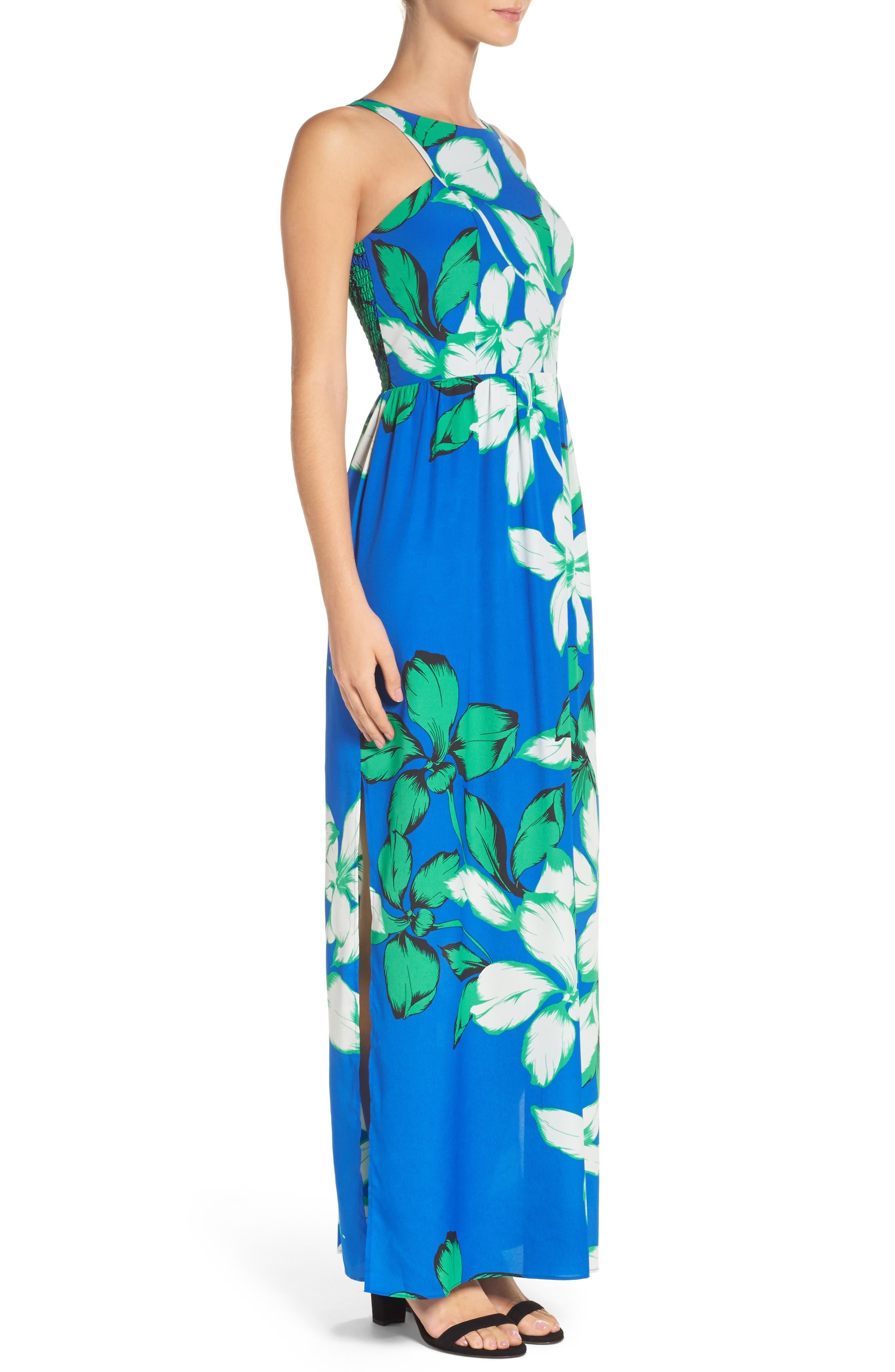 Alternate Image 3  - Chelsea28 Cutaway Shoulder Maxi Dress