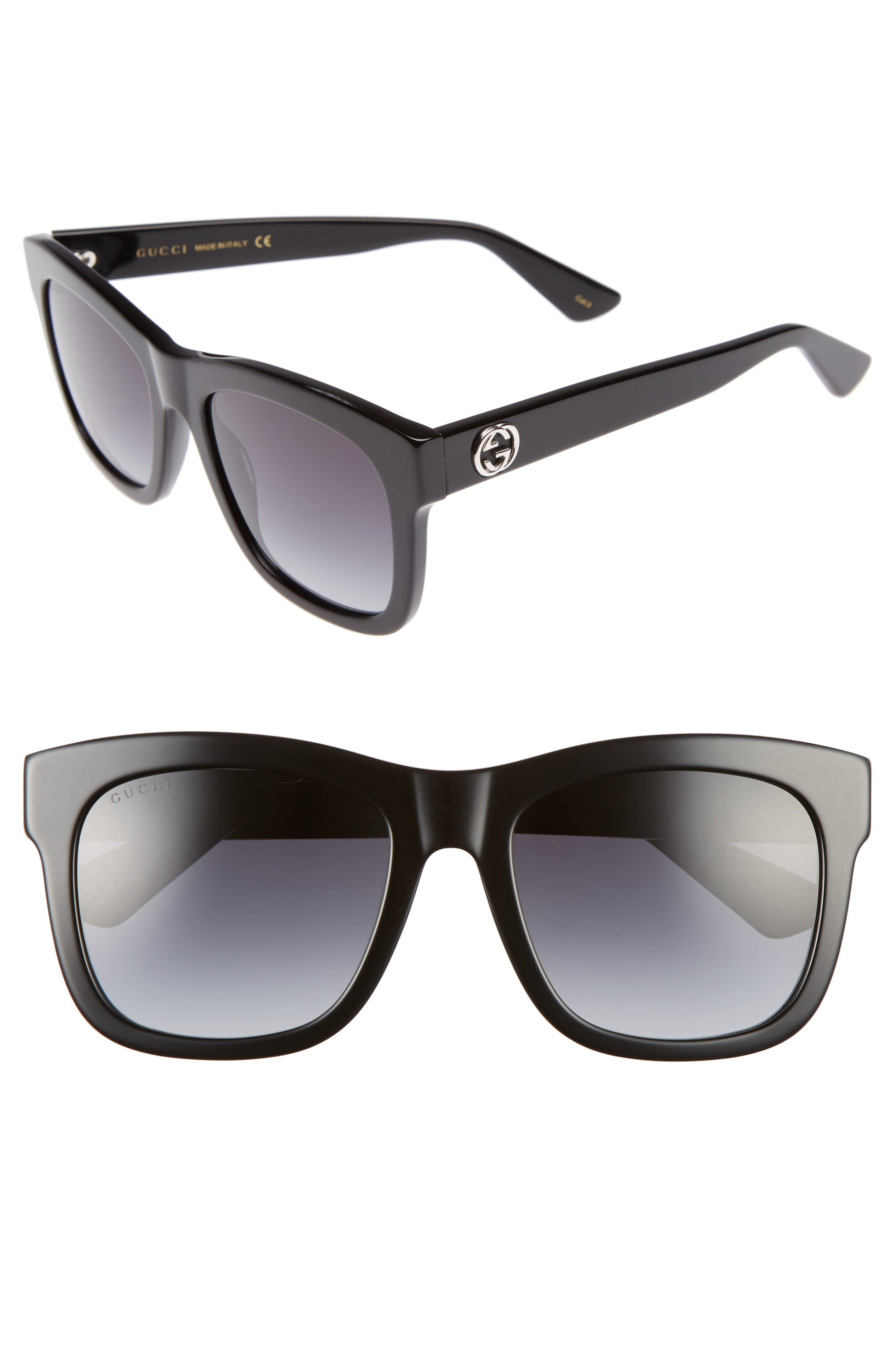 Alternate Image 1 Selected - Gucci 54mm Retro Sunglasses
