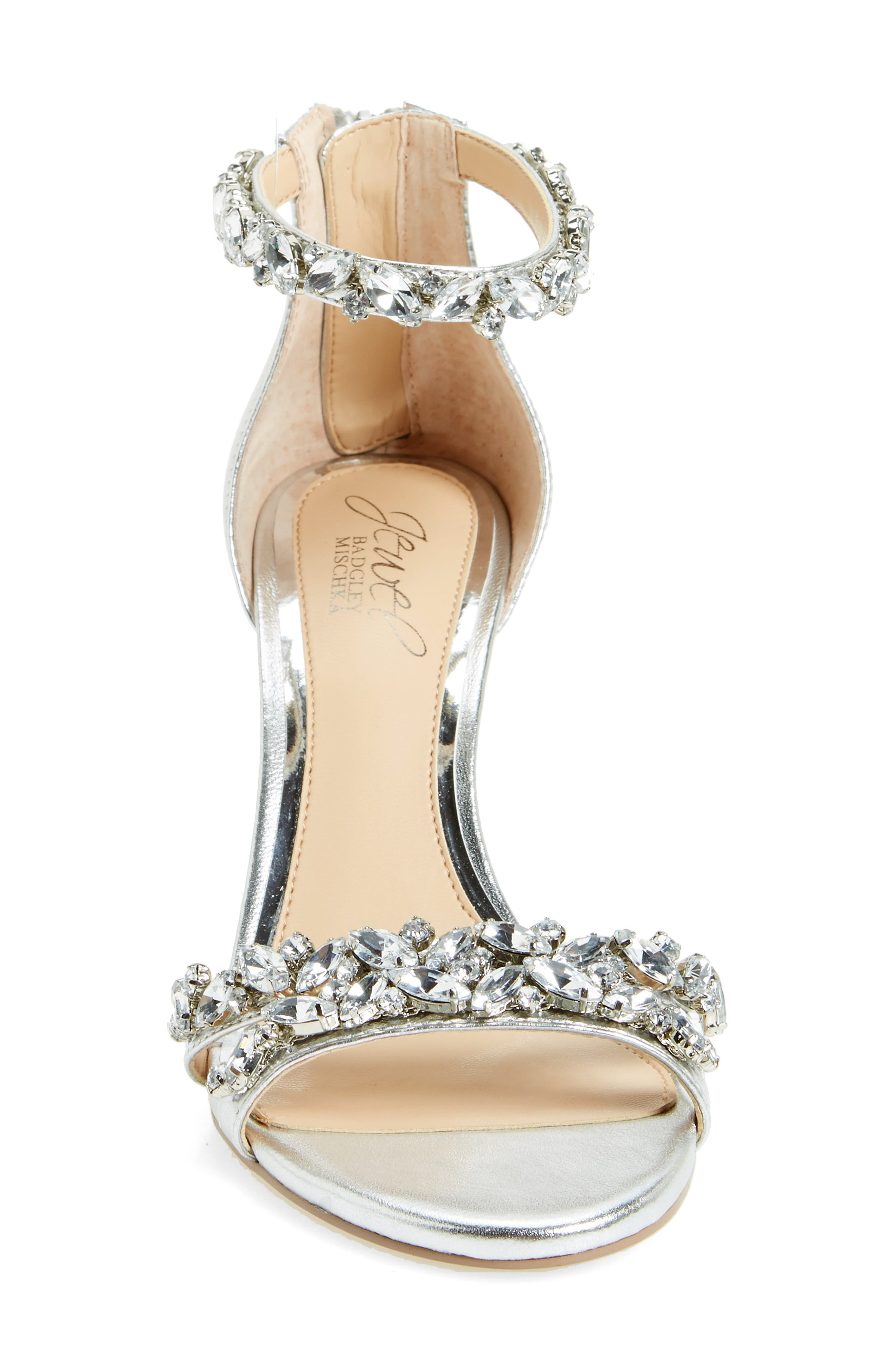 Alternate Image 3  - Jewel Badgley Mischka Caroline Embellished Sandal (Women)