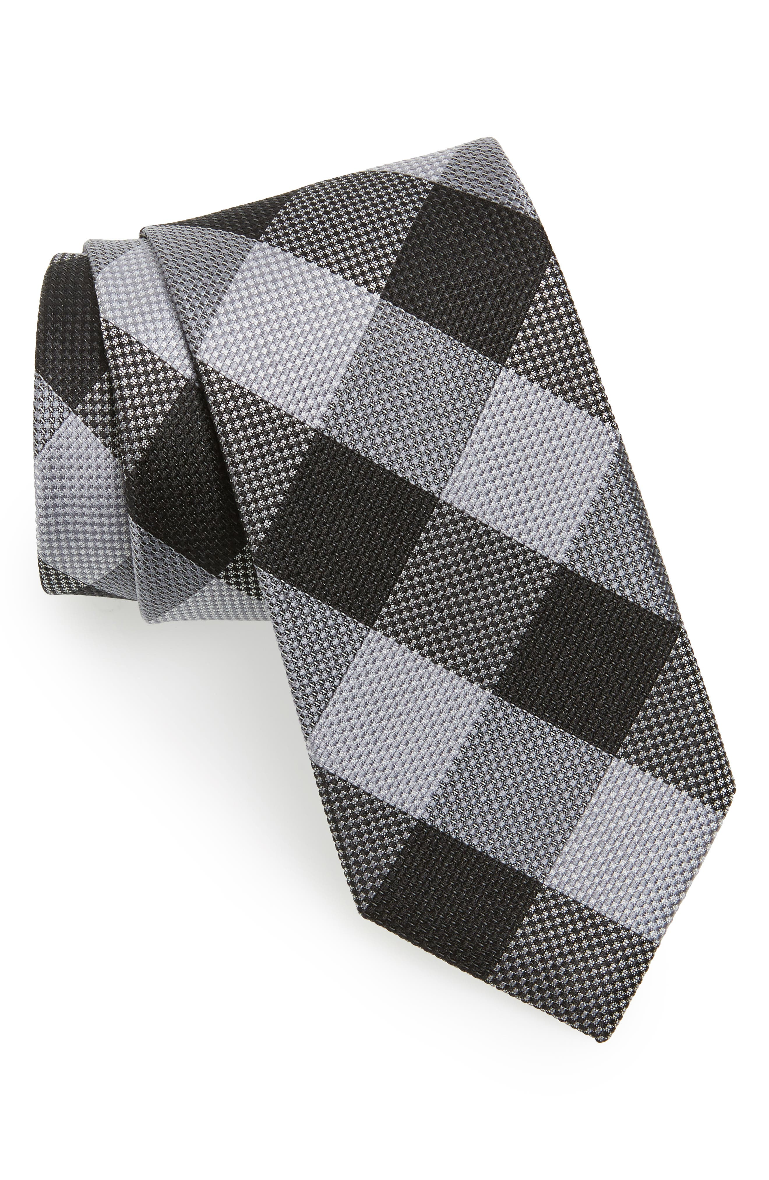 Alternate Image 1 Selected - Calibrate Check Silk Tie
