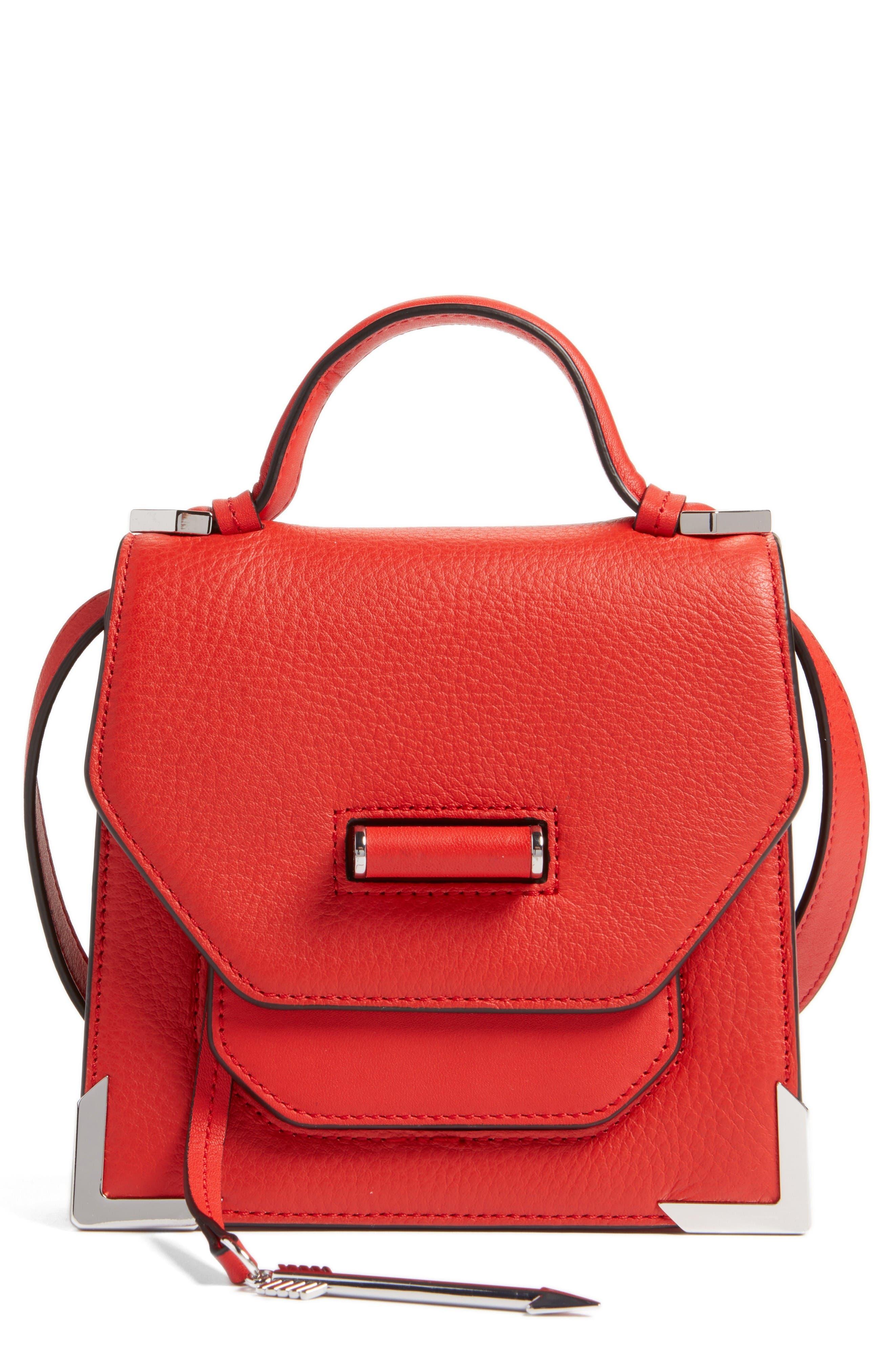 Alternate Image 1 Selected - Mackage Mini Rubie Leather Shoulder Bag