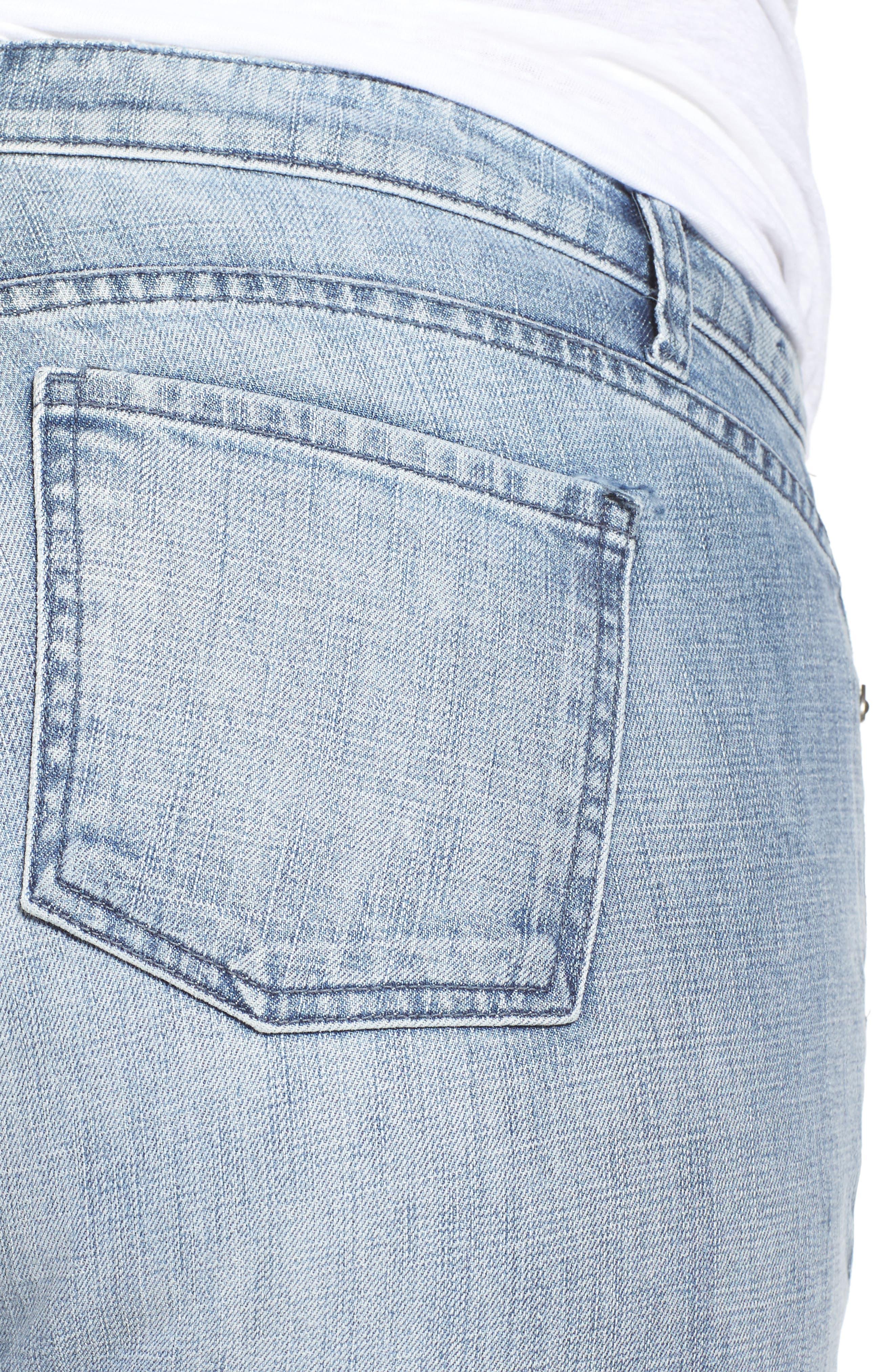 Alternate Image 6  - KUT from the Kloth Catherine Fray Hem Distressed Boyfriend Jeans (Plus Size)