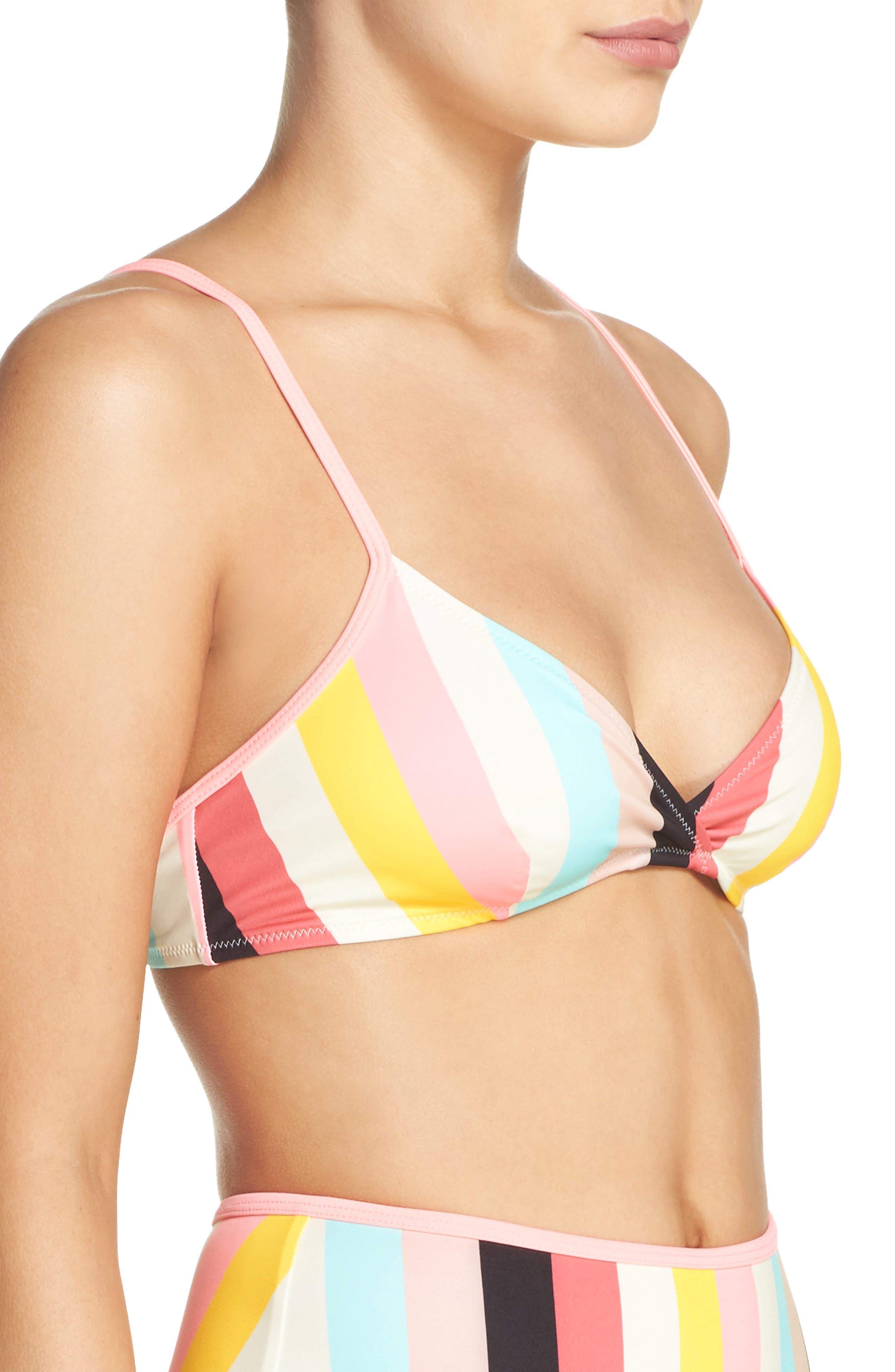 Alternate Image 3  - Solid & Striped Brigitte Bikini Top