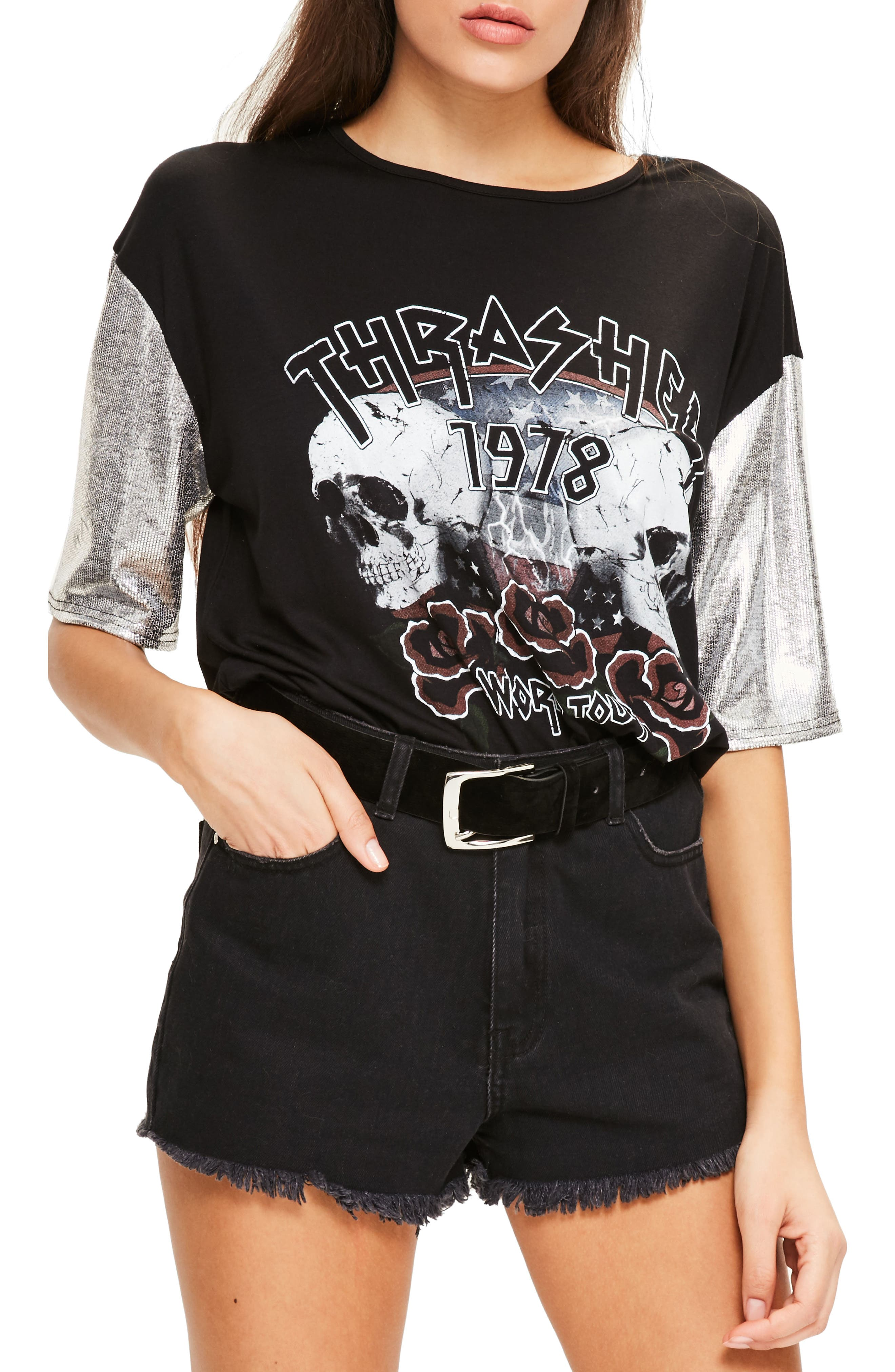 Alternate Image 4  - Missguided Thrasher Tee