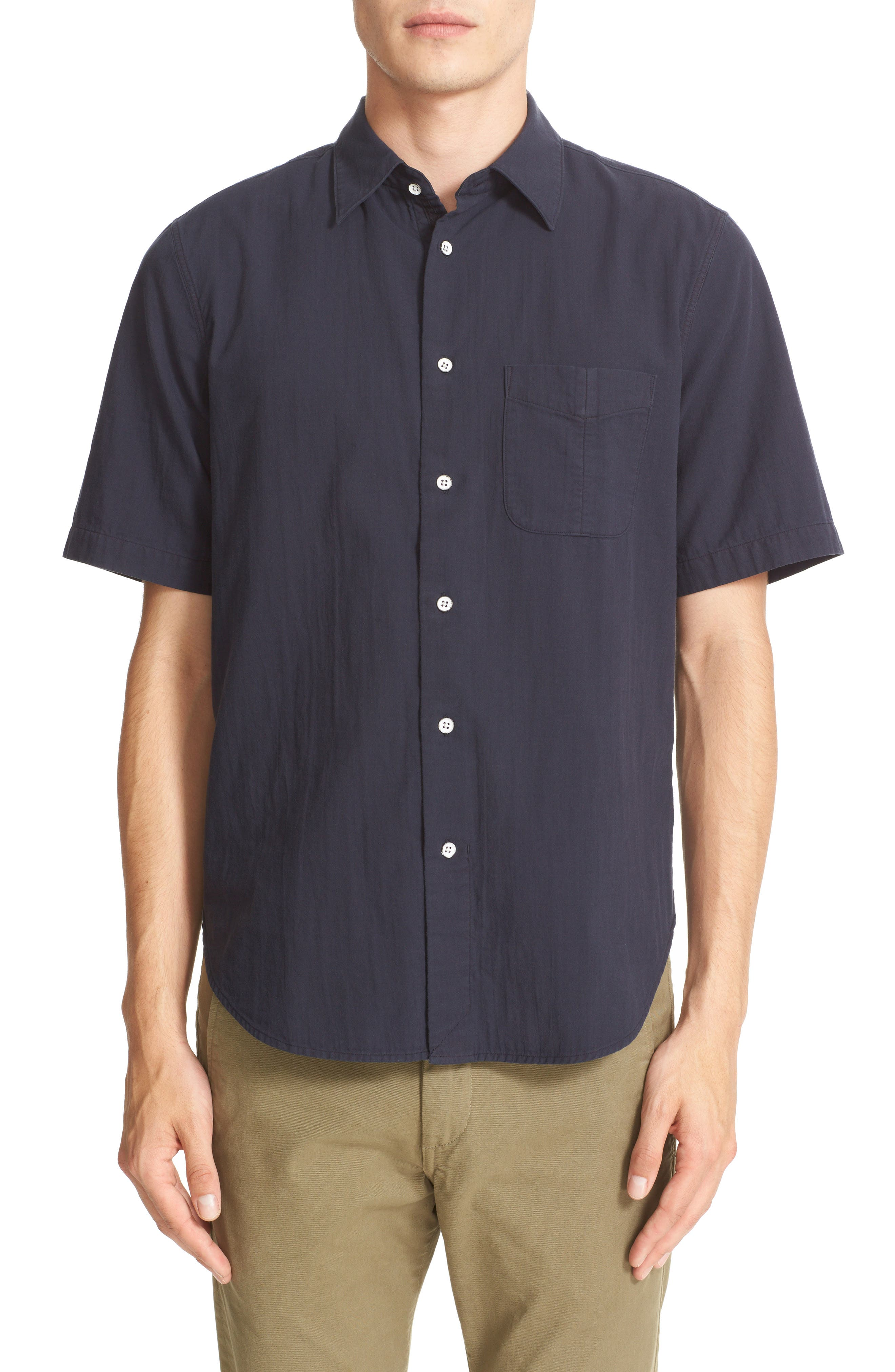 Main Image - rag & bone Standard Issue Beach Trim Fit Sport Shirt