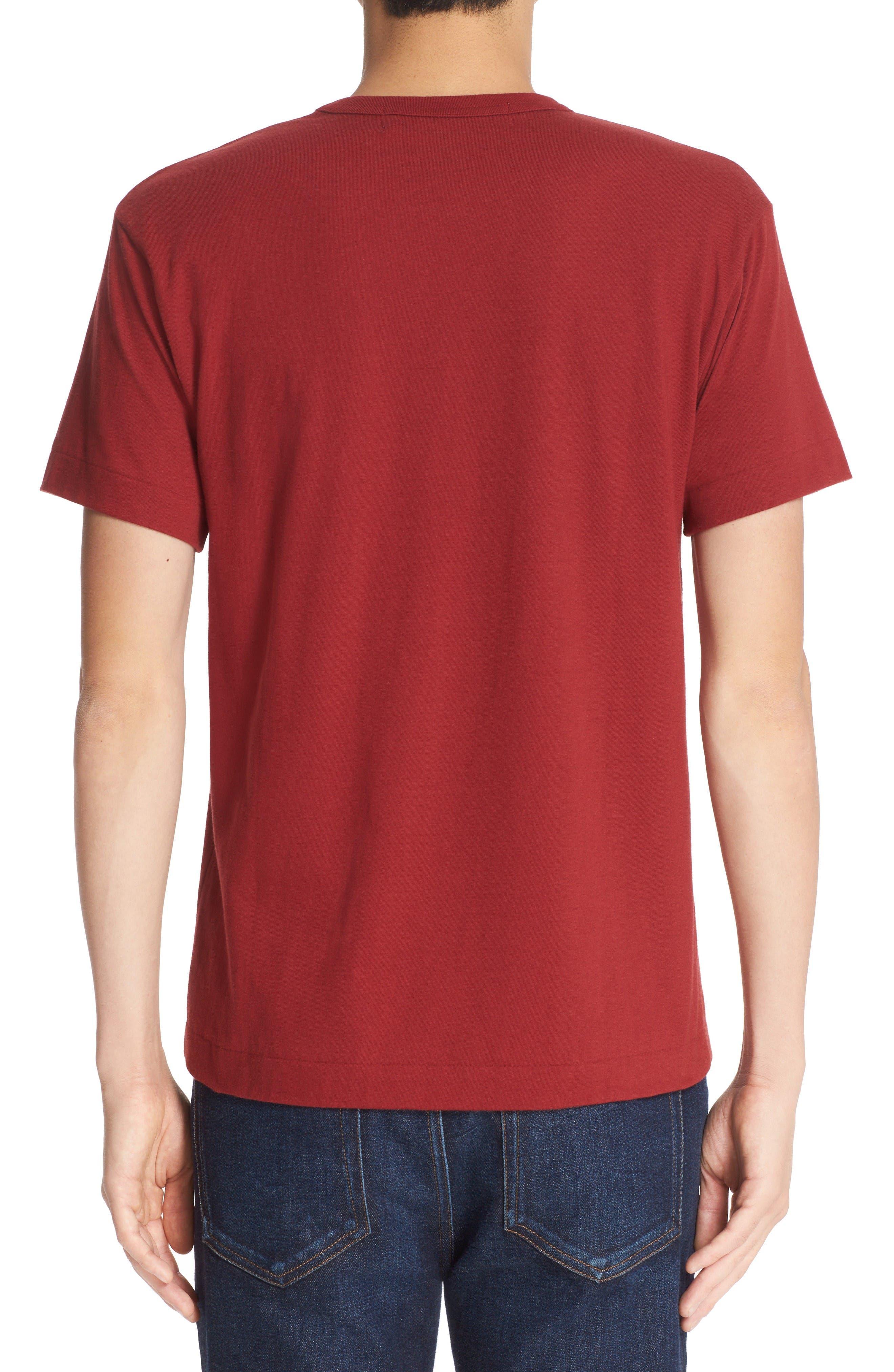 Alternate Image 2  - Comme des Garçons PLAY Twin Hearts Jersey T-Shirt